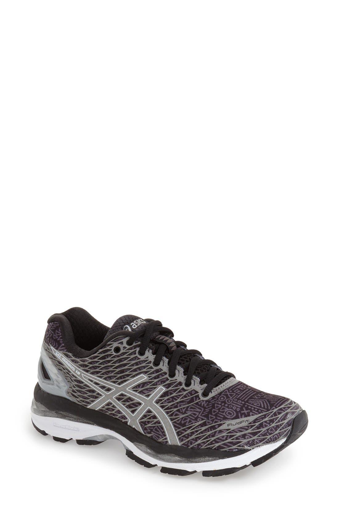 ASICS<SUP>®</SUP> 'GEL-Nimbus 18 Lite-Show' Running Shoe, Main, color, 003