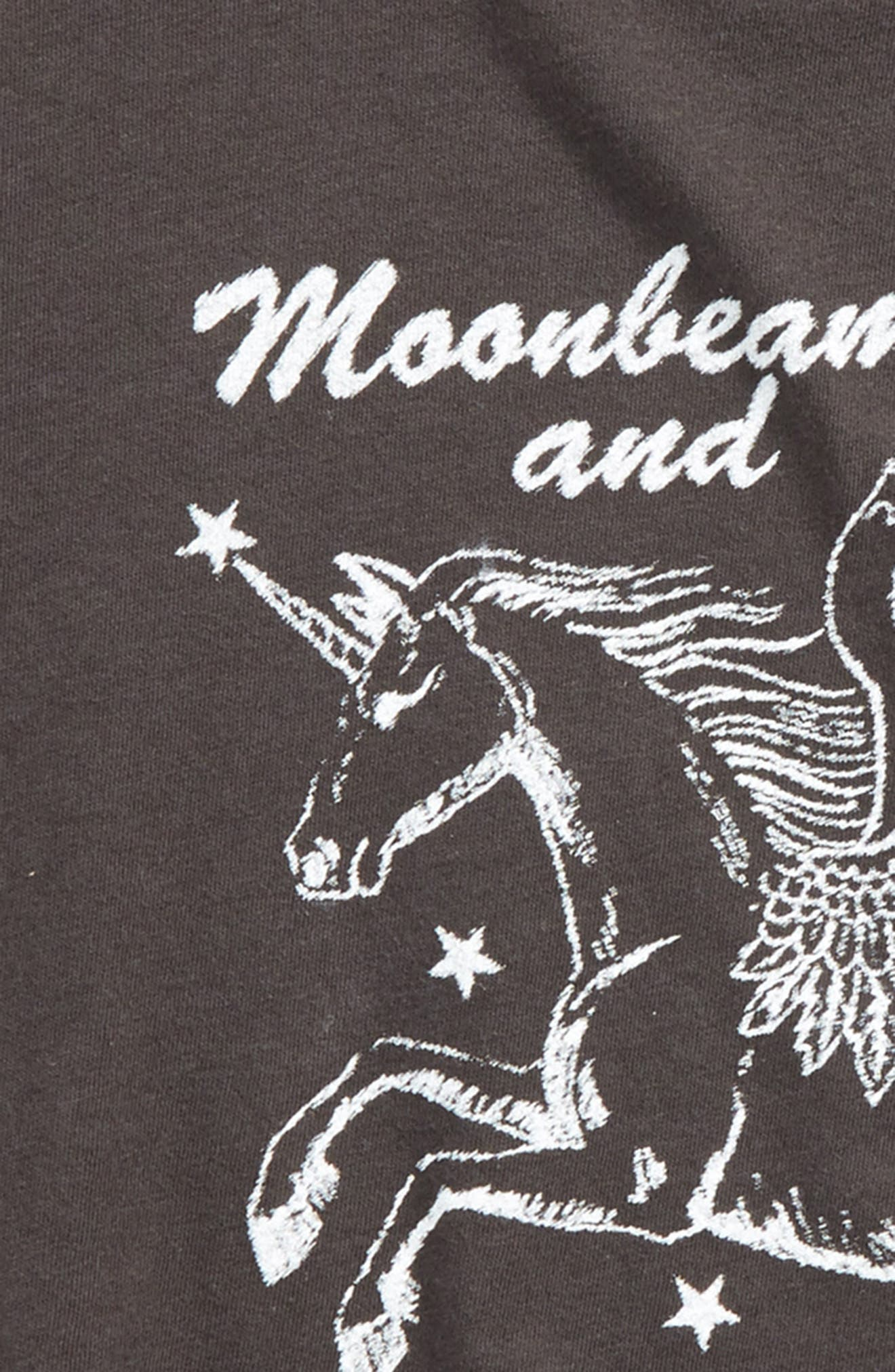 Moonbeams and Daydreams Graphic Tee,                             Alternate thumbnail 4, color,                             001
