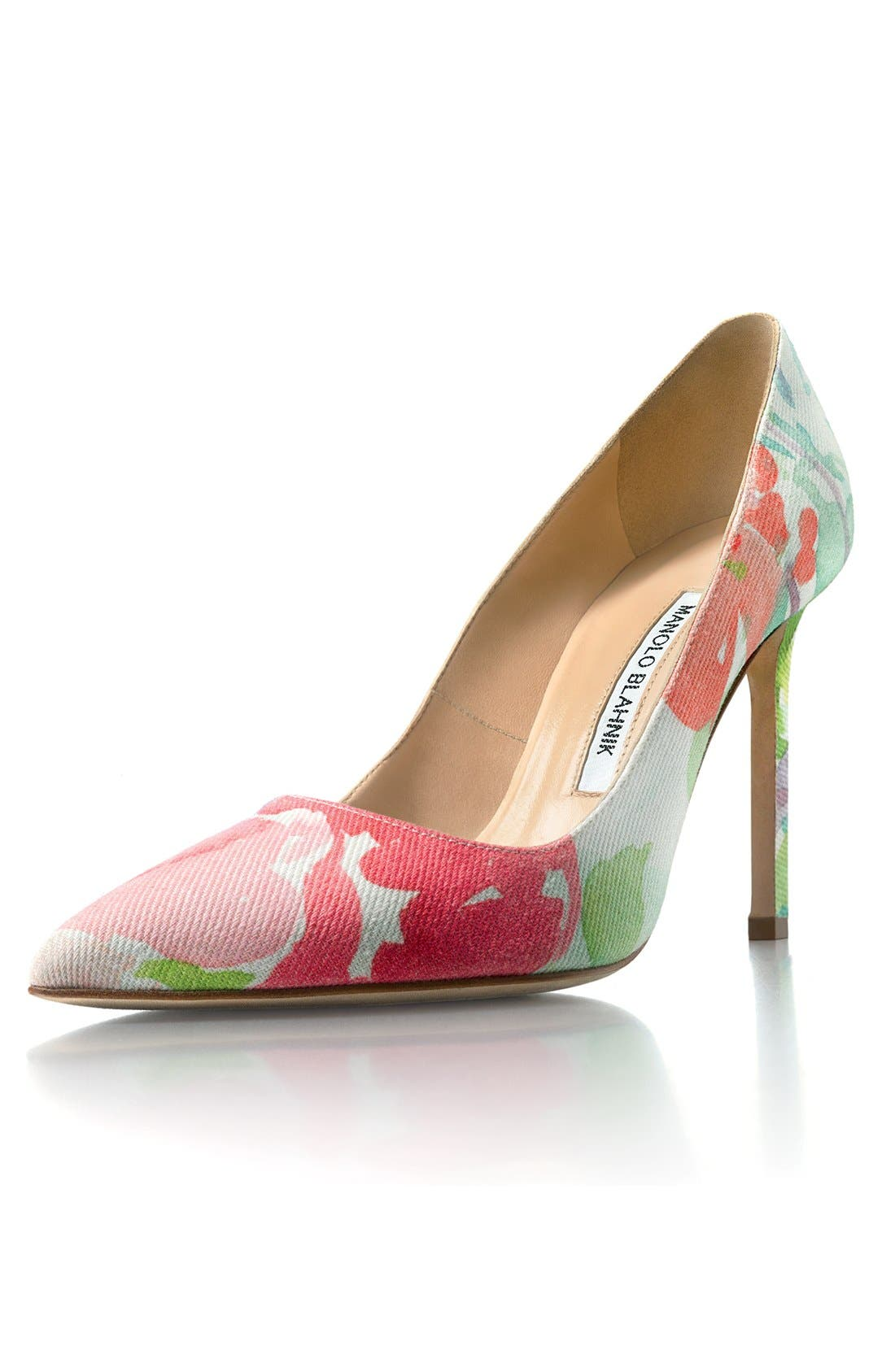 Pointy Toe Pump,                             Alternate thumbnail 7, color,                             650