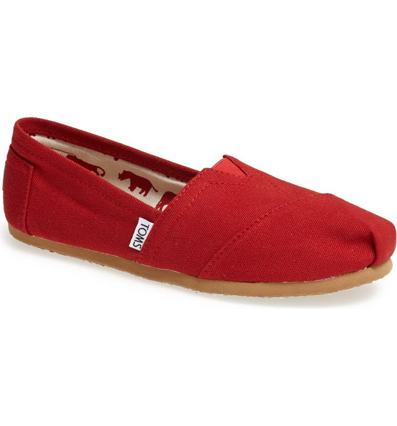 Places to buy  TOMS Classic Canvas Slip-On (Women) Great buy