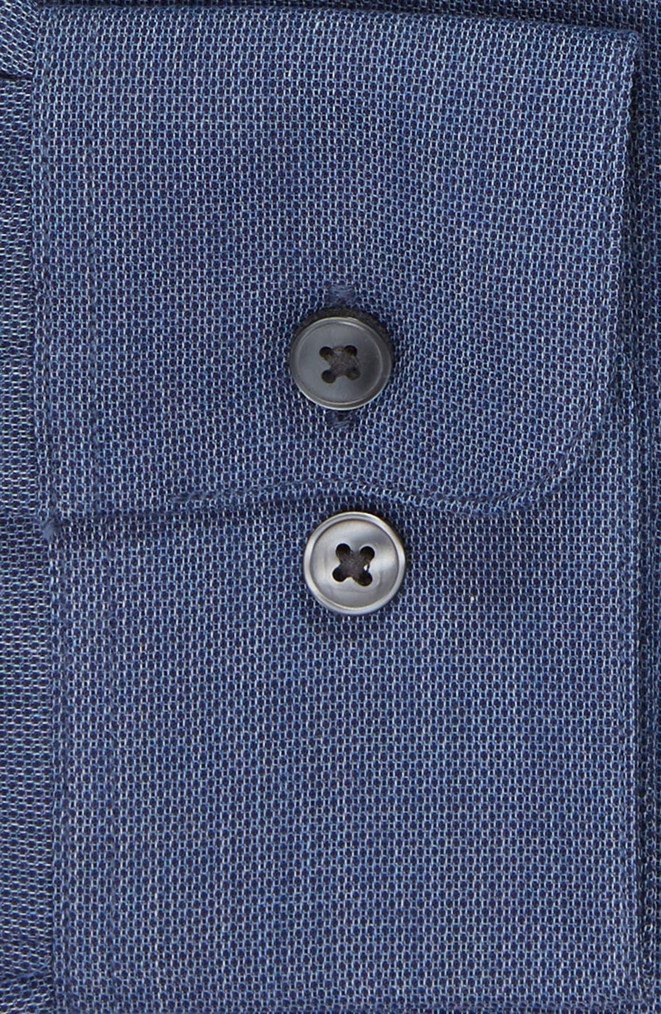 JOHN VARVATOS STAR USA,                             Regular Fit Solid Dress Shirt,                             Alternate thumbnail 6, color,                             415