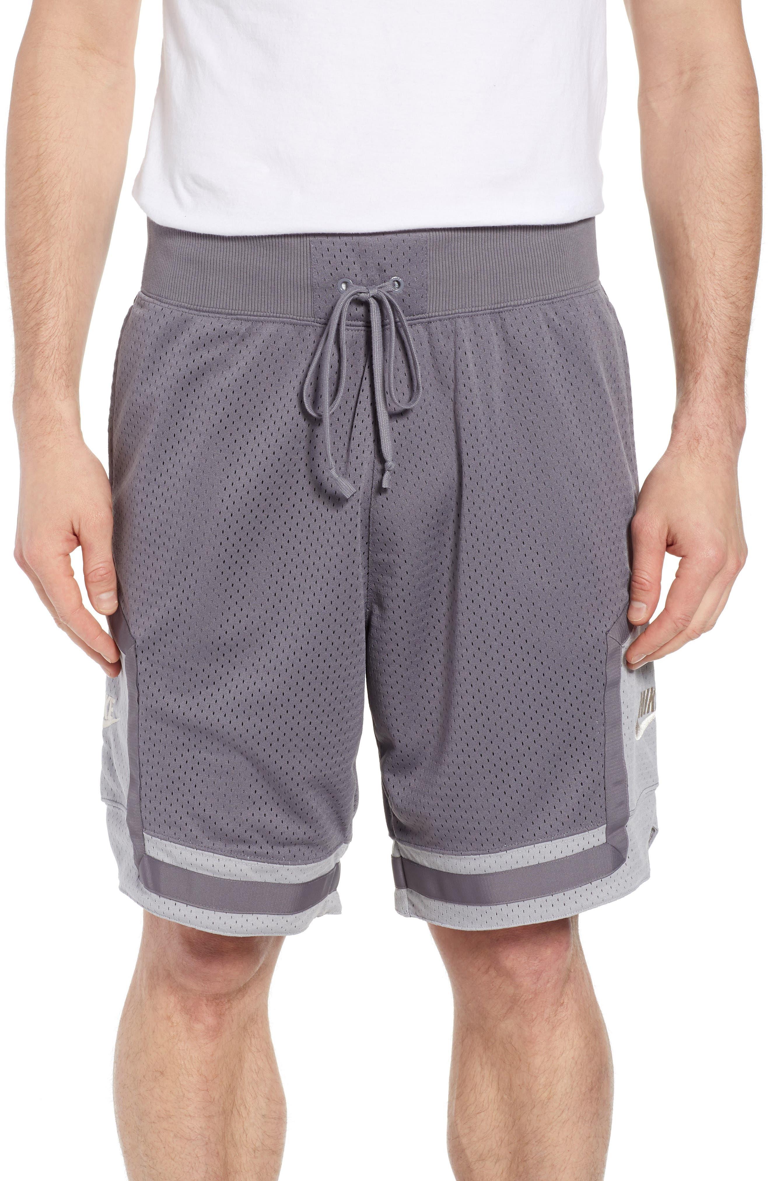 NSW AF1 Shorts,                             Main thumbnail 1, color,                             GUNSMOKE/ GREY/ OREWOOD