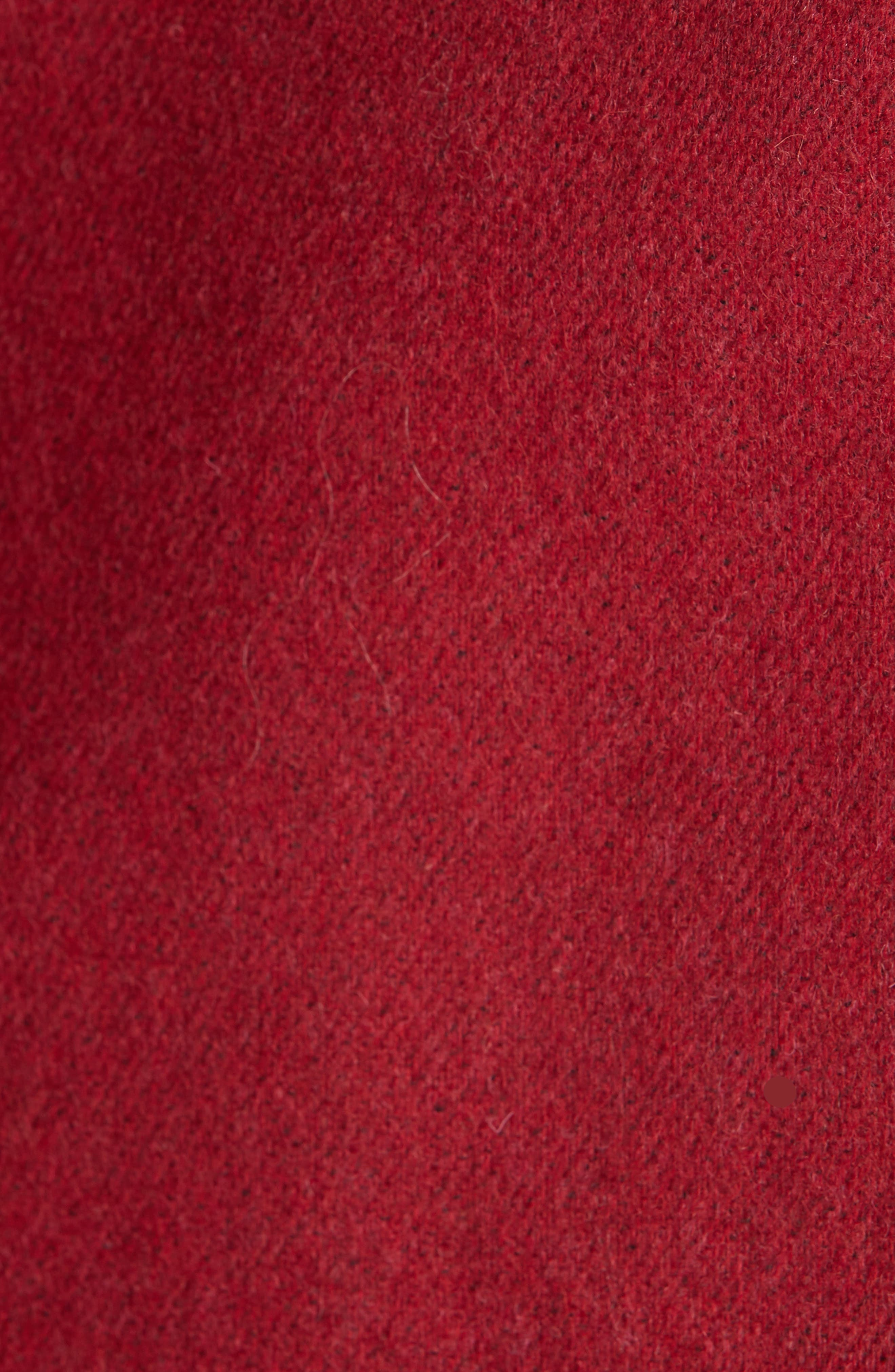 Lexington Wool Blend Blazer,                             Alternate thumbnail 5, color,                             RED MELANGE