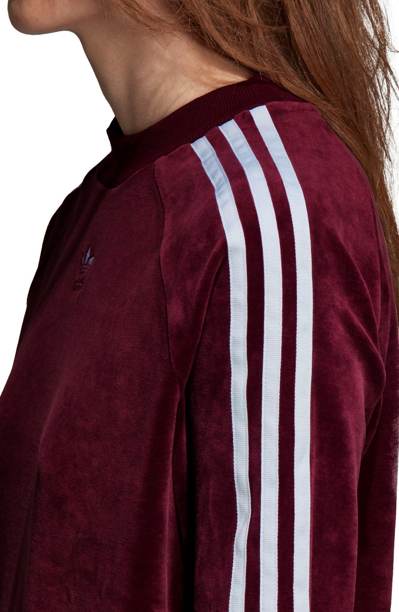 TRF Sweatshirt,                             Alternate thumbnail 8, color,                             MAROON