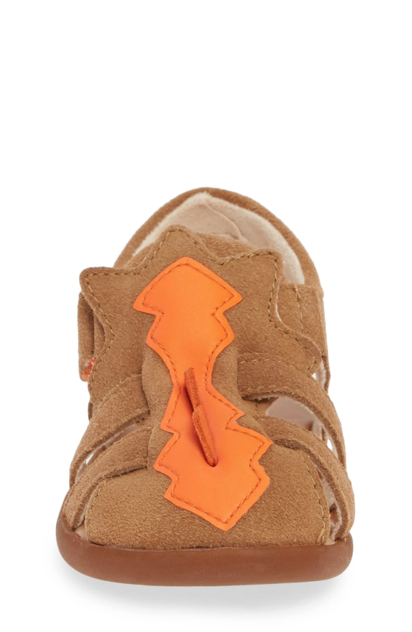 UGG<SUP>®</SUP>,                             Zarzar Sandal,                             Alternate thumbnail 4, color,                             TAN