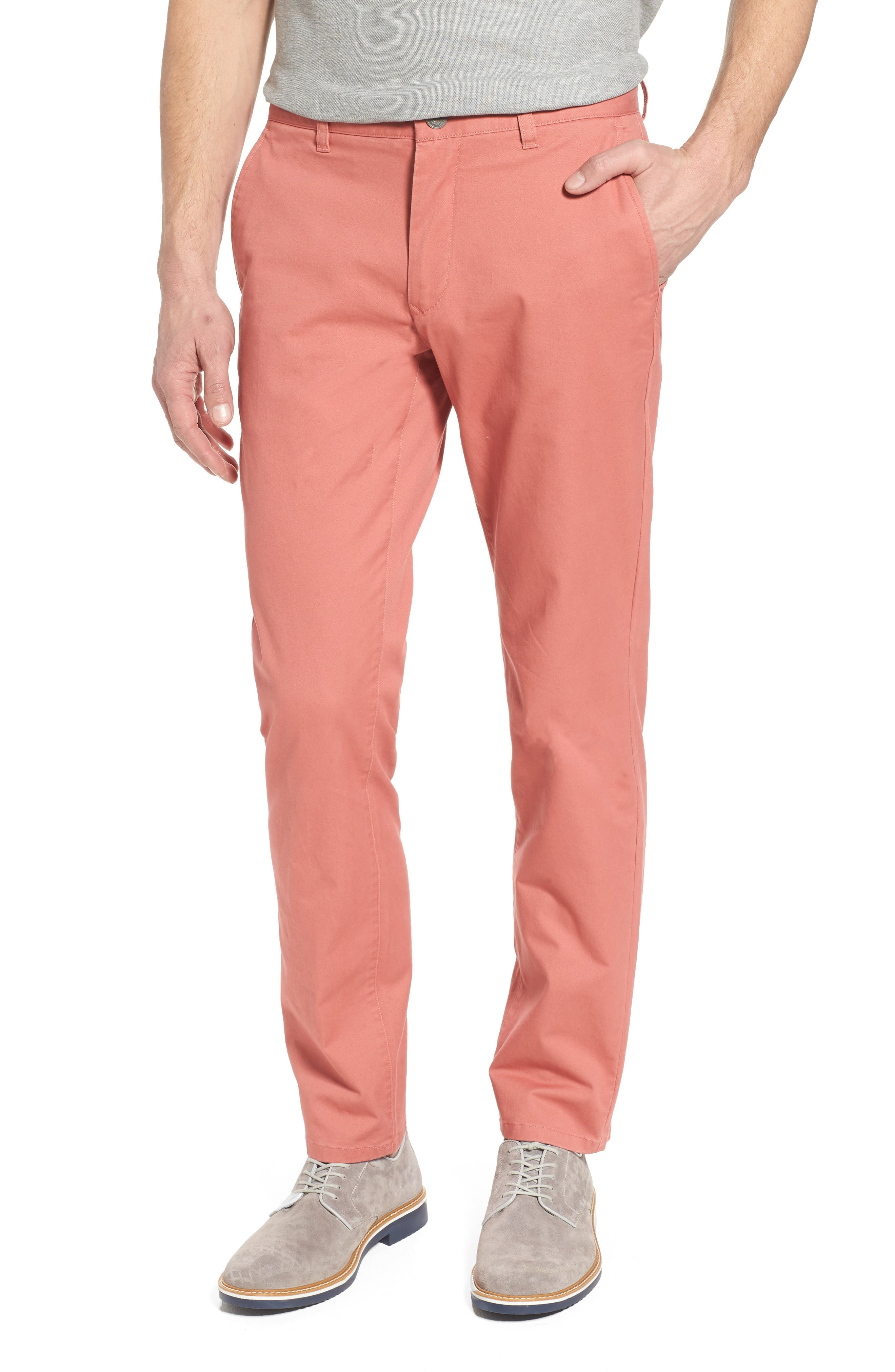 Tailored Fit Washed Stretch Cotton Chinos,                             Main thumbnail 24, color,