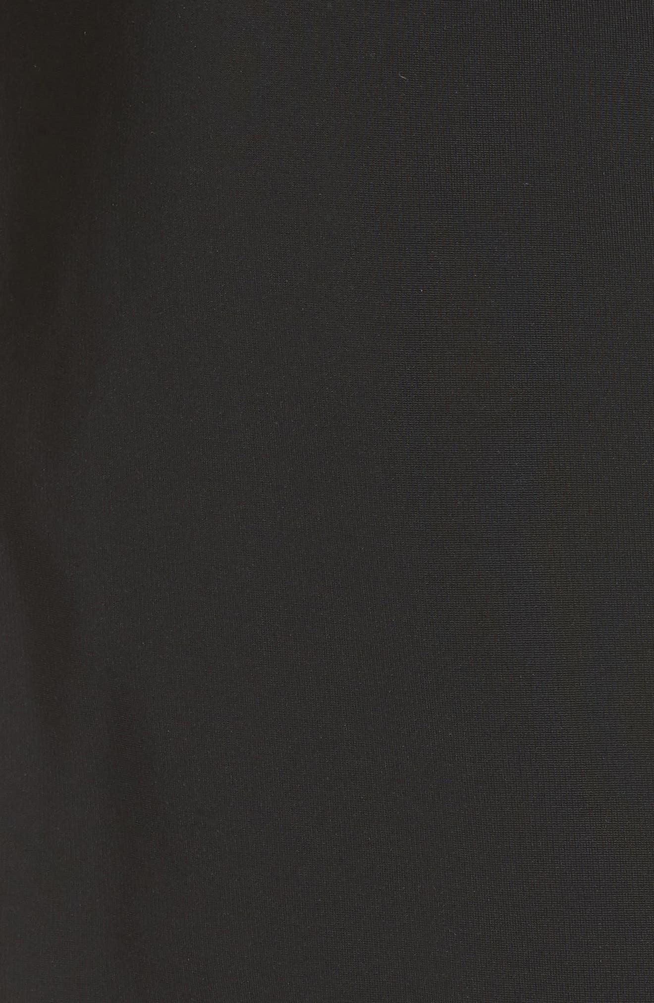CUSHNIE,                             et Ochs Embellished Mesh One-Shoulder Sheath Dress,                             Alternate thumbnail 5, color,                             001