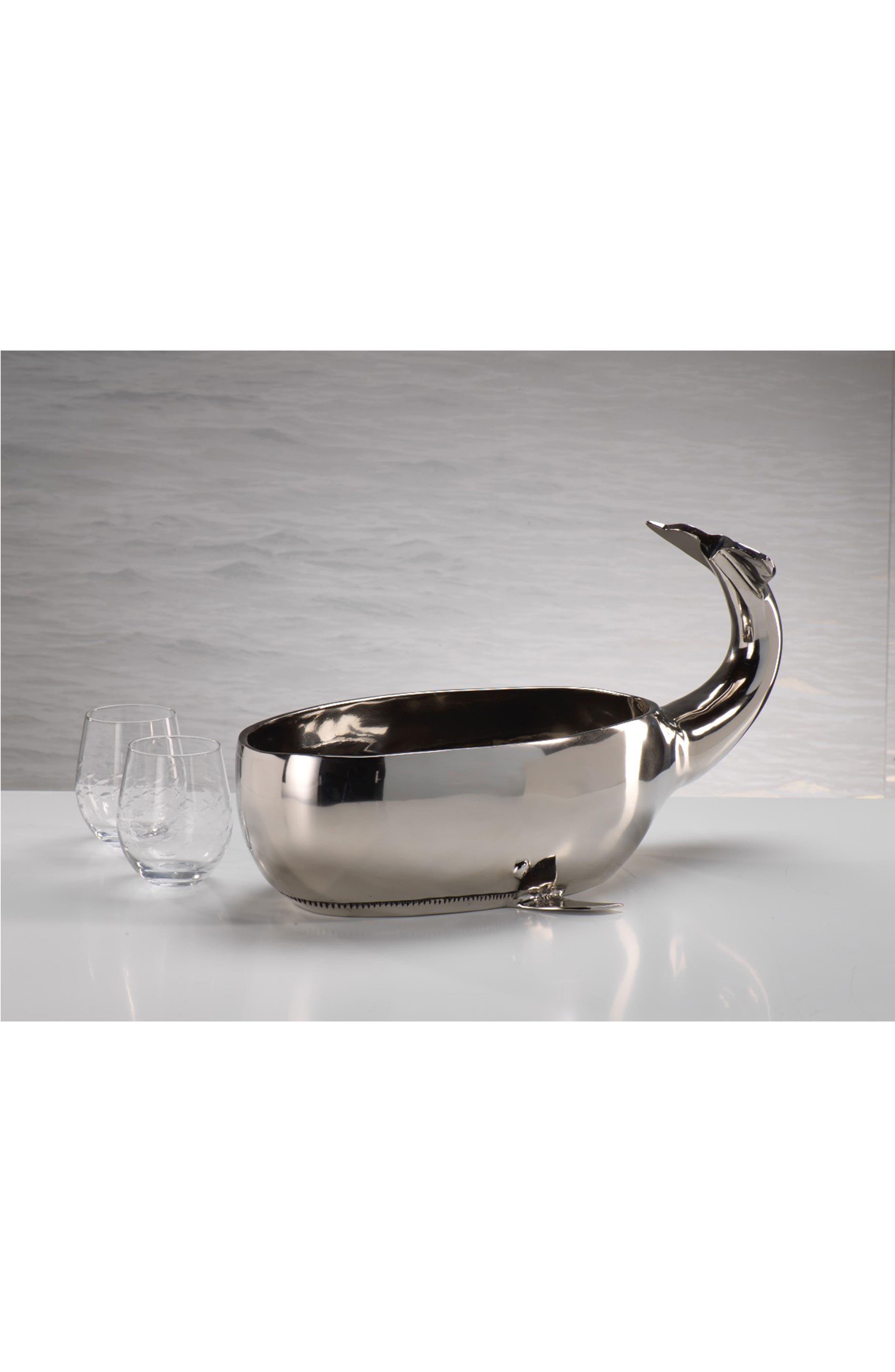 Whale Decorative Bowl,                             Alternate thumbnail 2, color,                             040