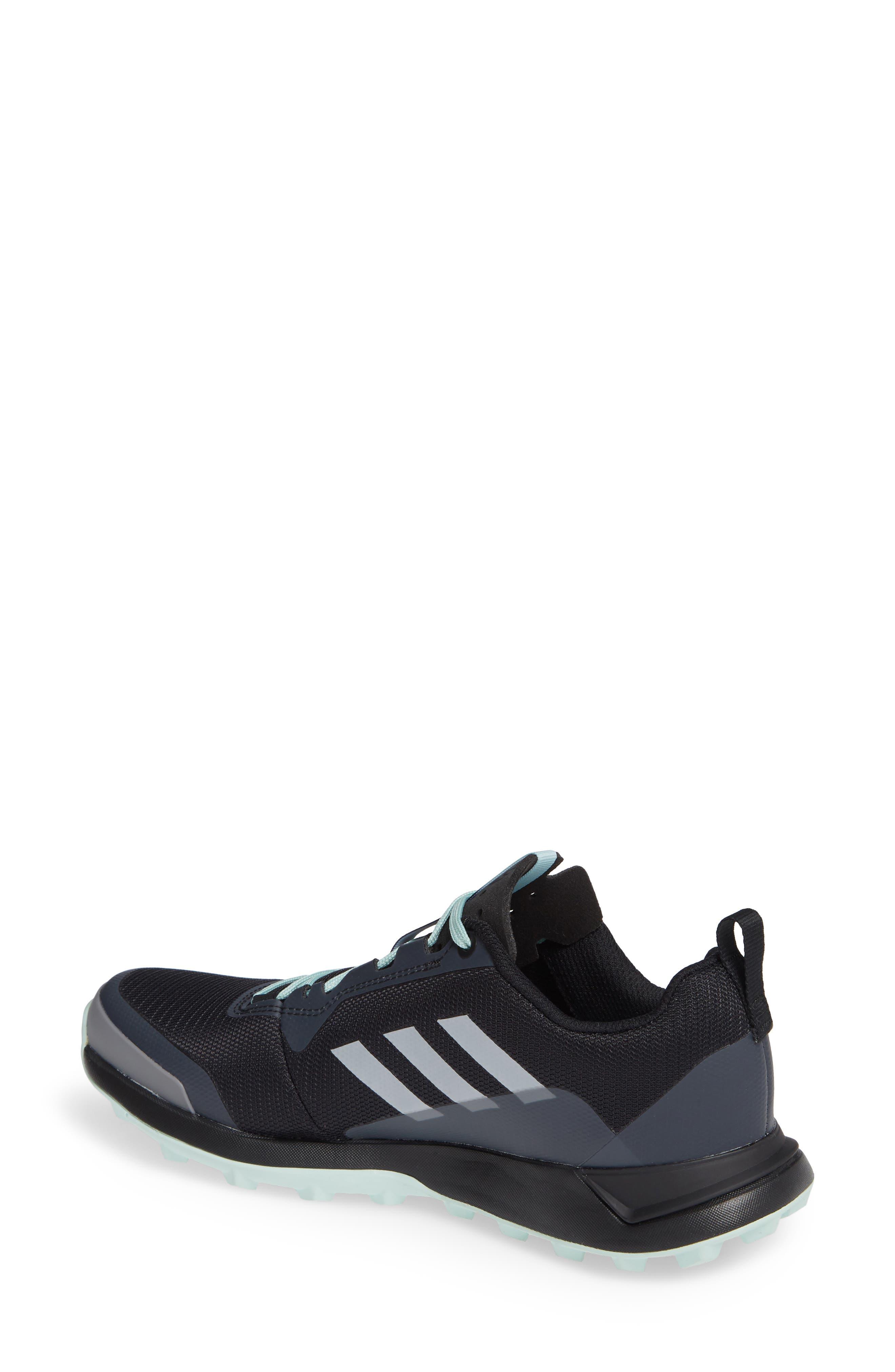 Terrex CMTK Gore-Tex<sup>®</sup> Waterproof Hiking Sneaker,                             Alternate thumbnail 2, color,                             BLACK/ CHALK WHITE/ ASH GREEN