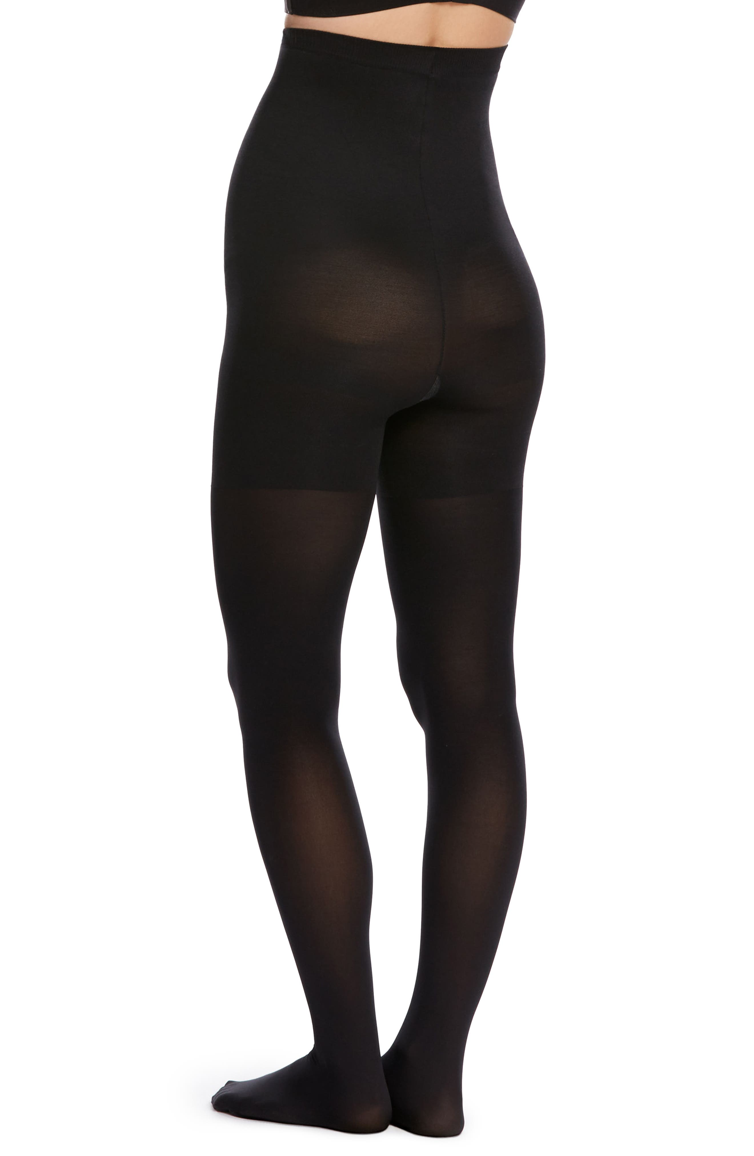 Mama Tights,                             Alternate thumbnail 2, color,                             BLACK