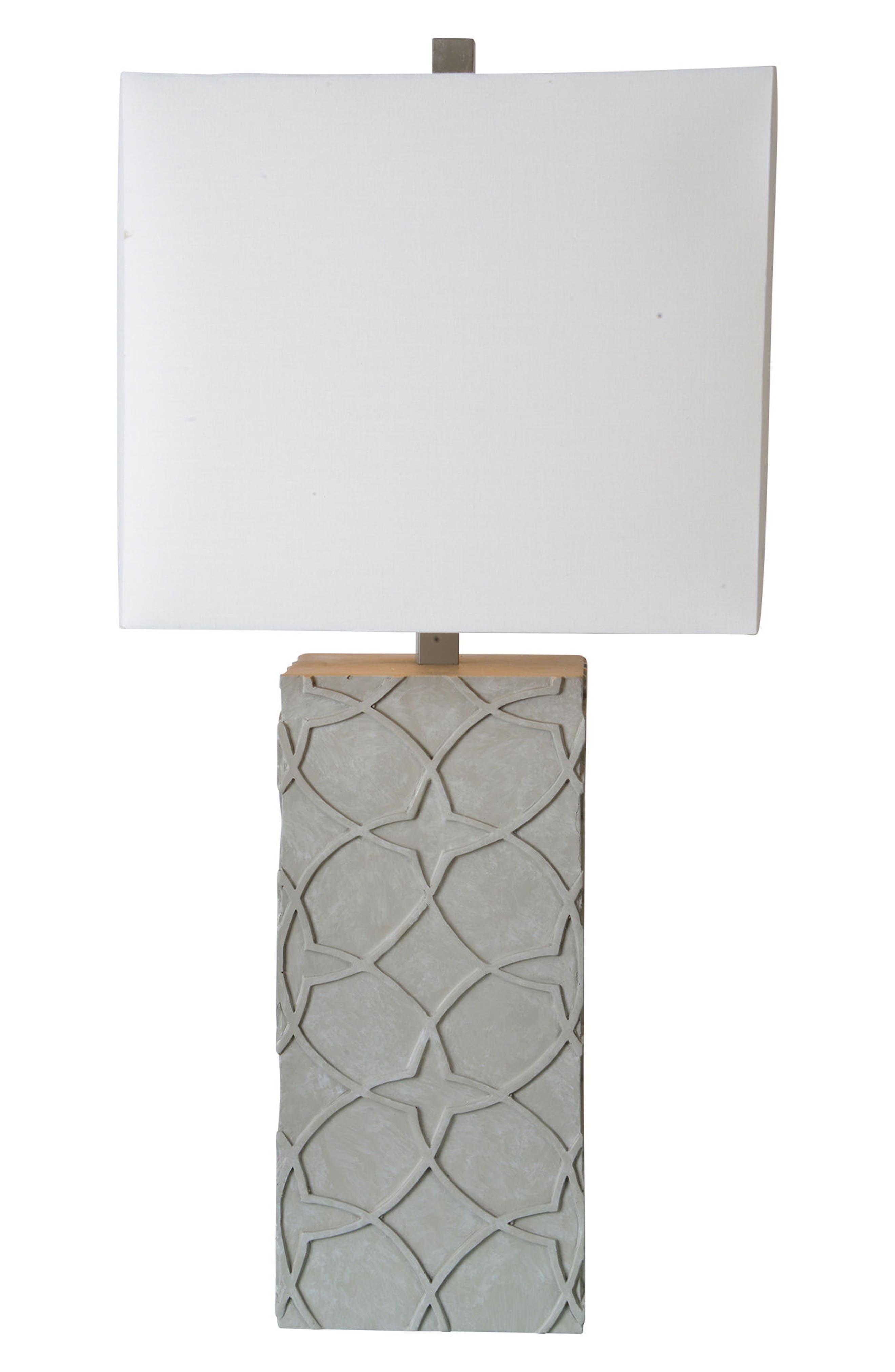 Barkly Table Lamp,                             Main thumbnail 1, color,                             CONCRETE