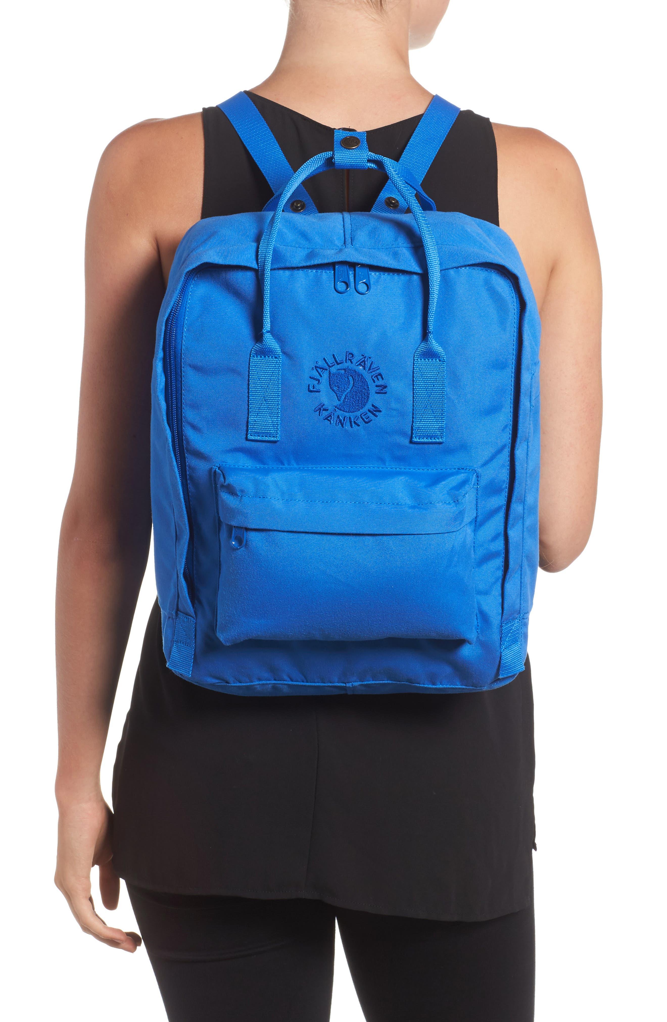 Re-Kånken Water Resistant Backpack,                             Alternate thumbnail 2, color,                             UN BLUE