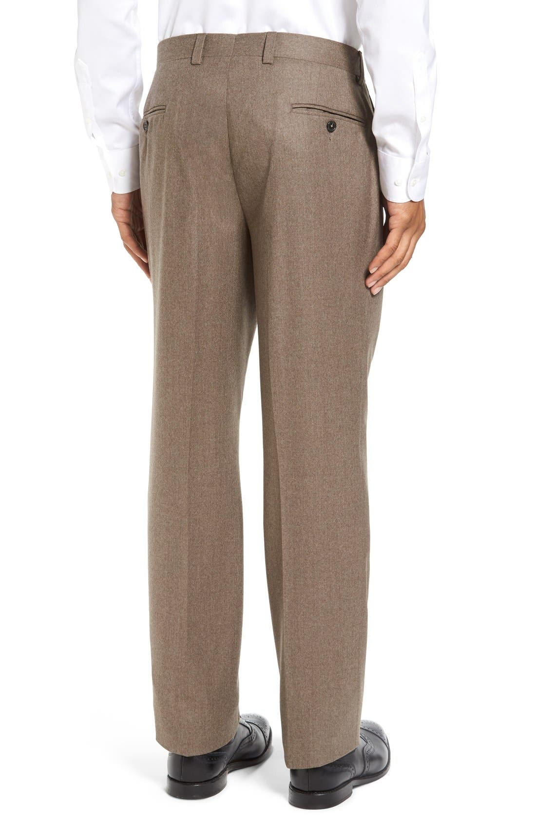 'Ryan' Classic Fit Trousers,                             Alternate thumbnail 8, color,