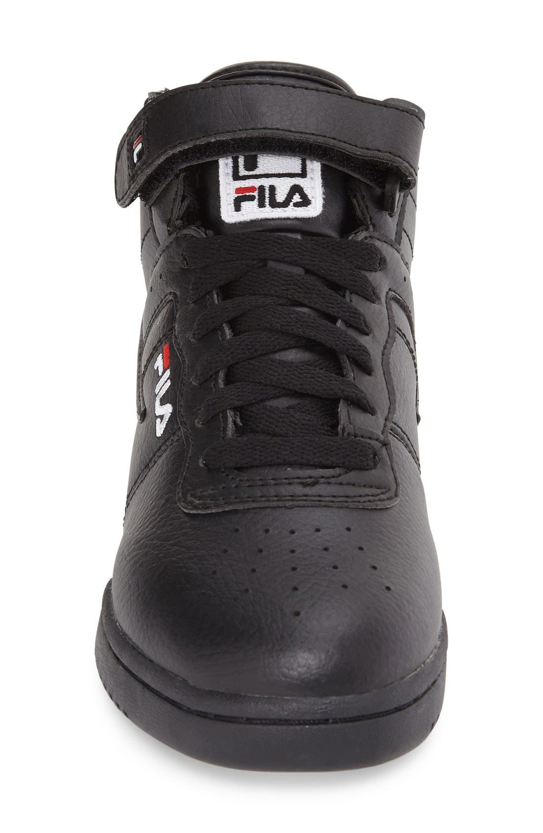 F-13 High Top Sneaker,                             Alternate thumbnail 3, color,                             001