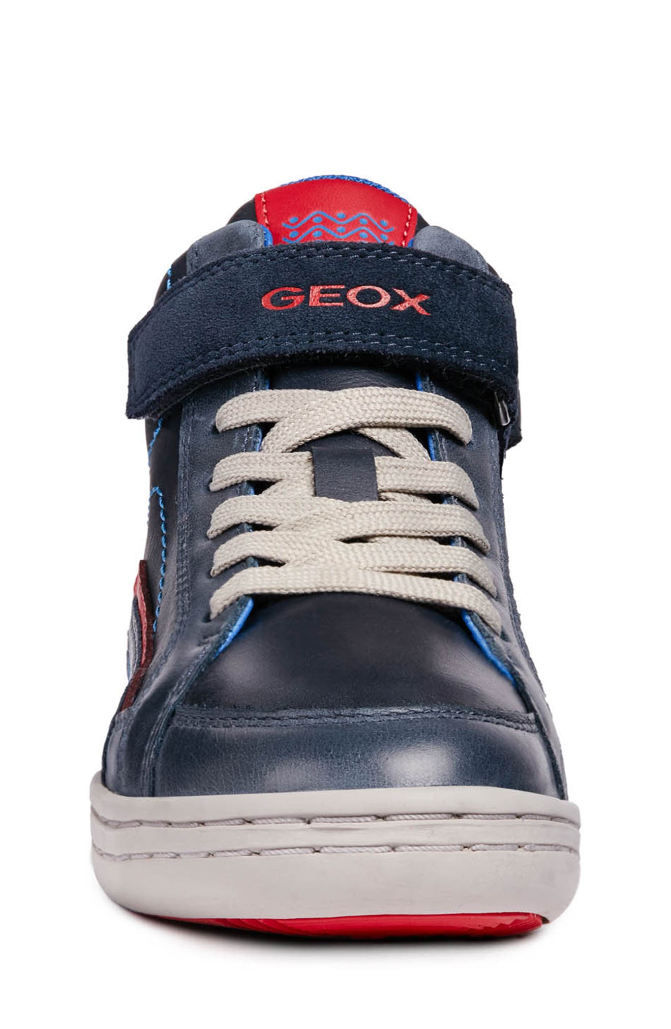 GEOX,                             Garcia Mid Sneaker,                             Alternate thumbnail 4, color,                             401