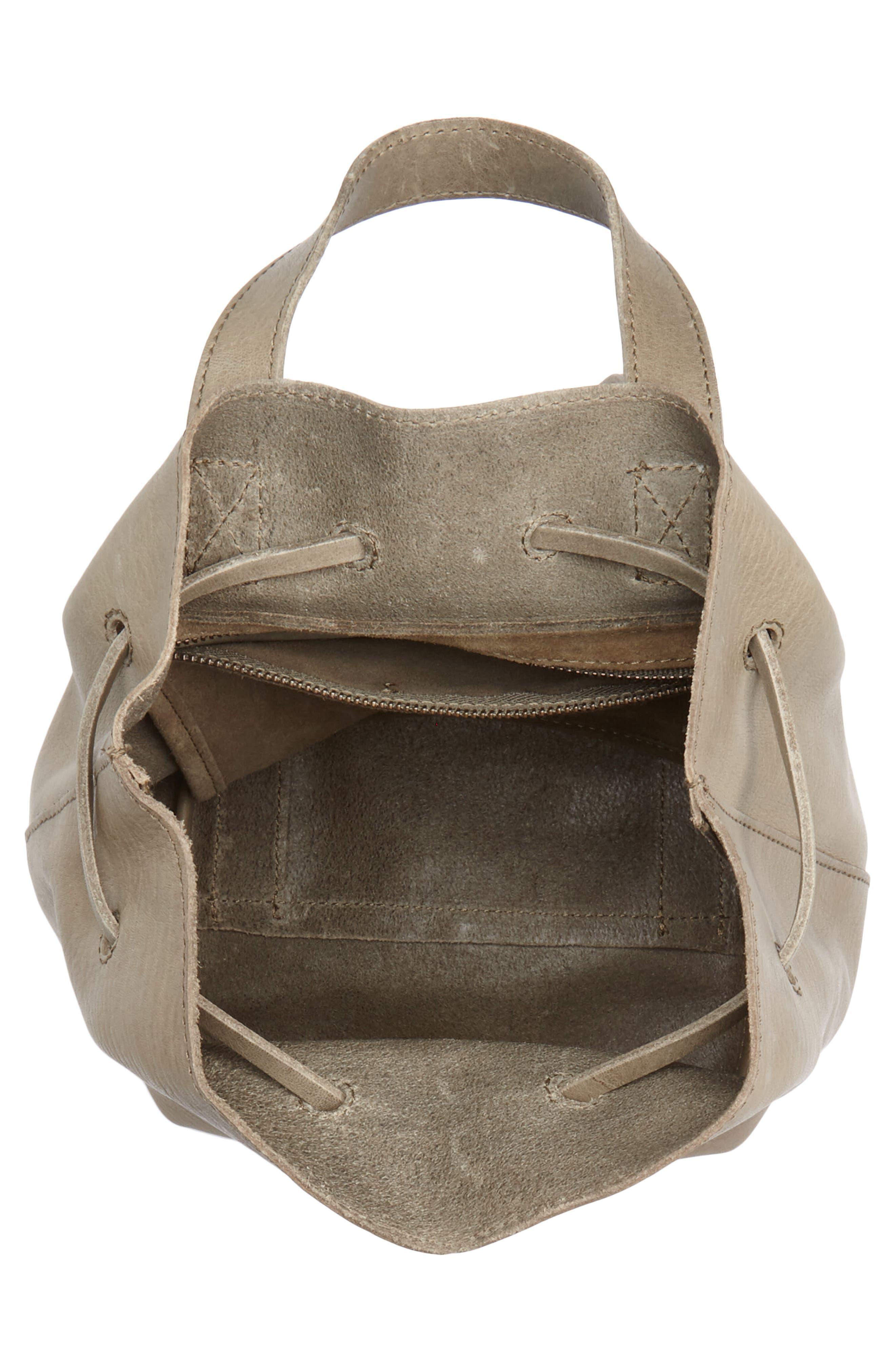 Mini Somerset Leather Backpack,                             Alternate thumbnail 4, color,                             FORGOTTEN LANDSCAPE
