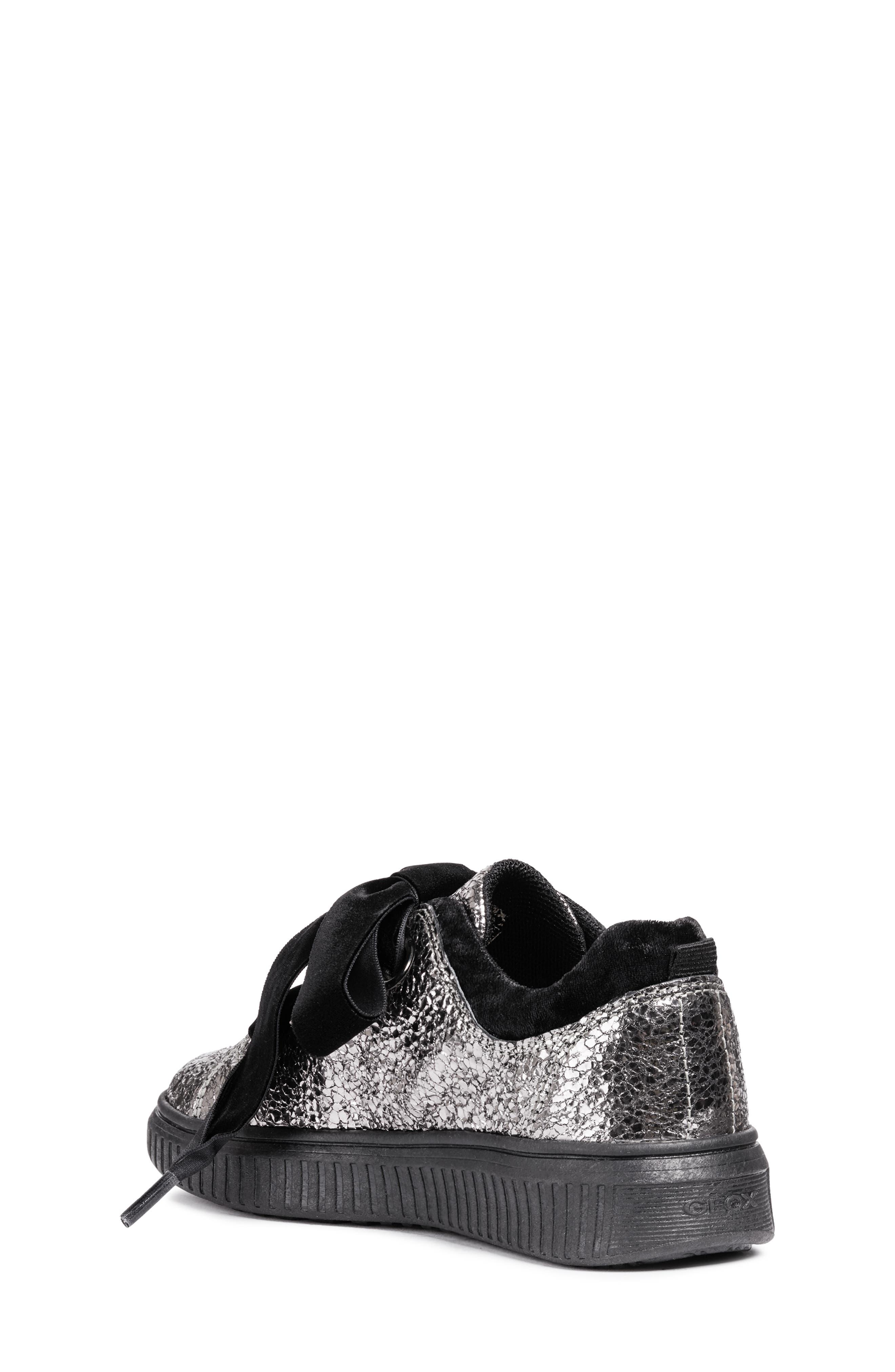 Disco Mix Sneaker,                             Alternate thumbnail 2, color,                             DARK SILVER