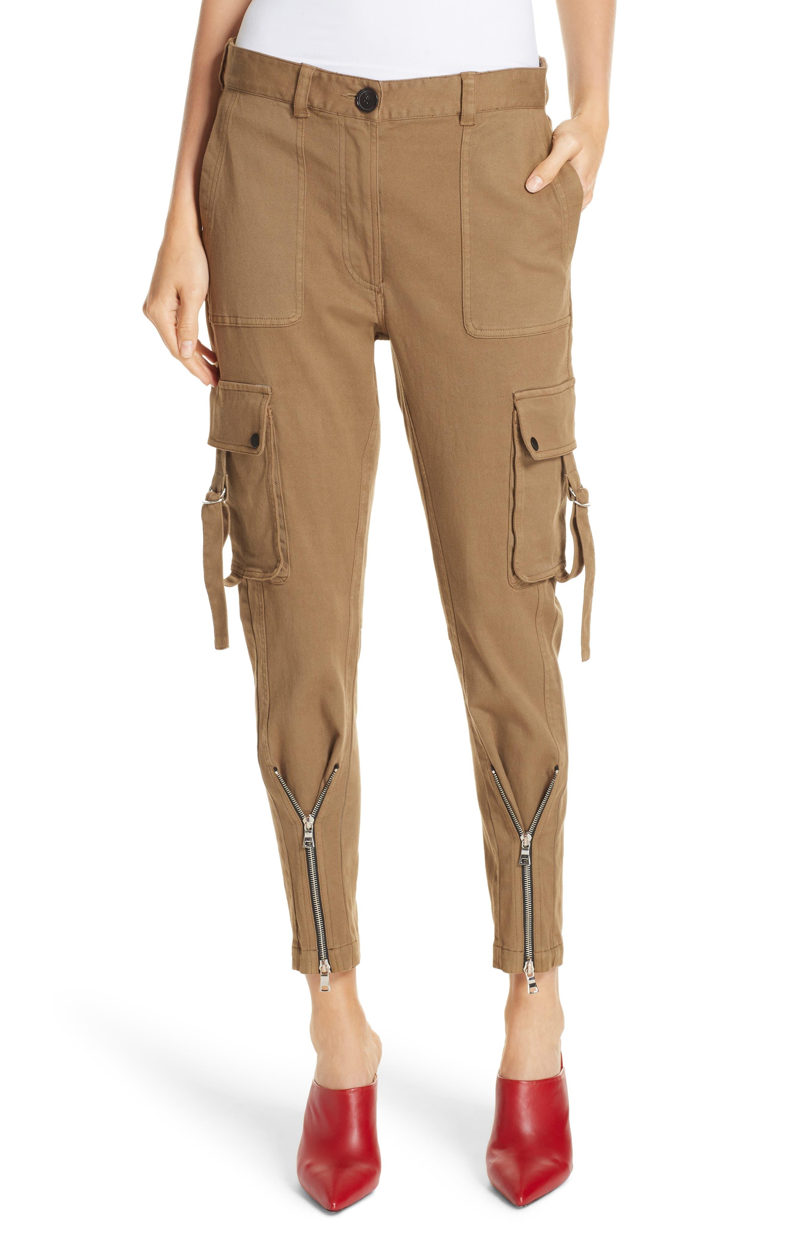 Skinny Cargo Pants,                             Main thumbnail 1, color,                             OLIVE