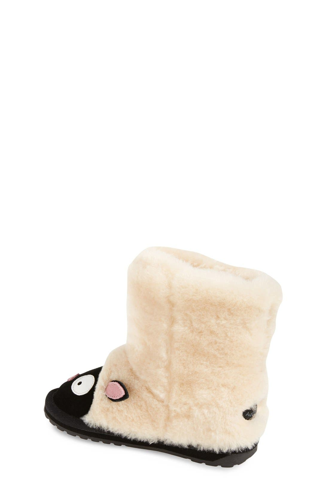 Little Creatures - Lamb Boot,                             Alternate thumbnail 3, color,                             NATURAL