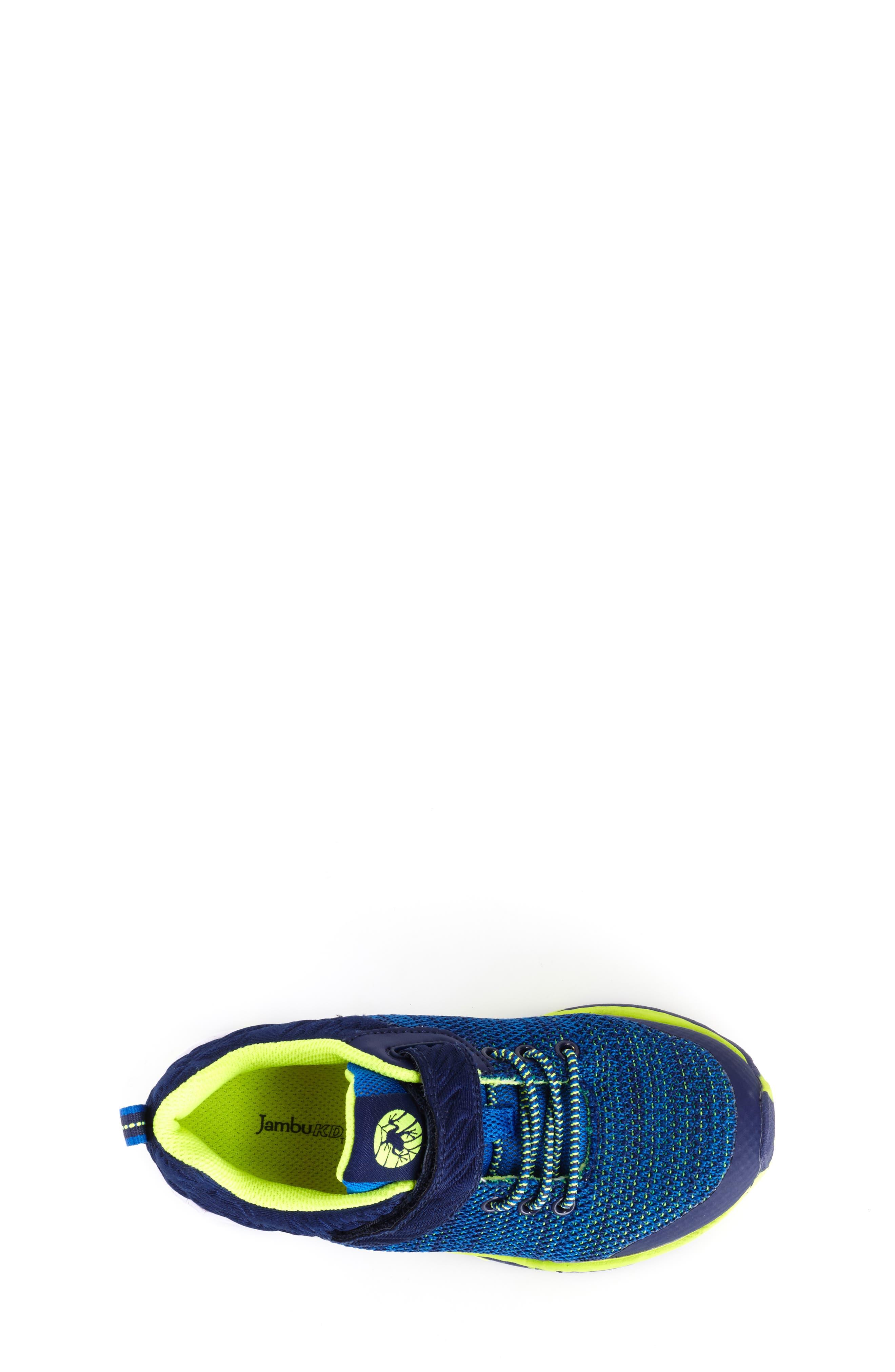 Talon Knit Sneaker,                             Alternate thumbnail 4, color,                             NAVY TEXTILE