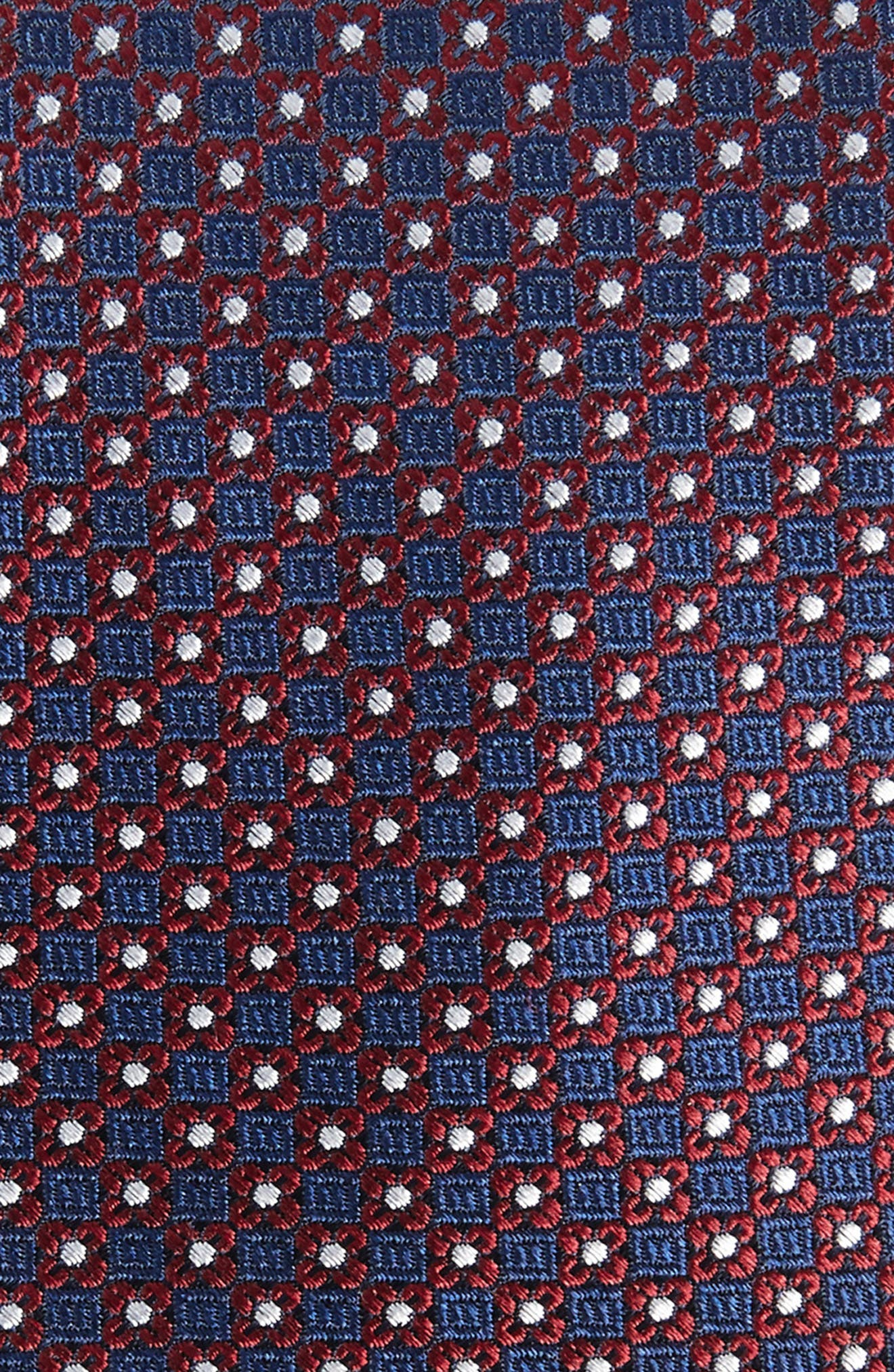 Floral Network Silk Skinny Tie,                             Alternate thumbnail 2, color,                             600