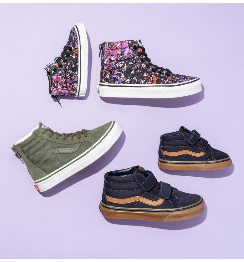 6f295021836057 Vans Sk8-Hi Zip Sneaker (Baby