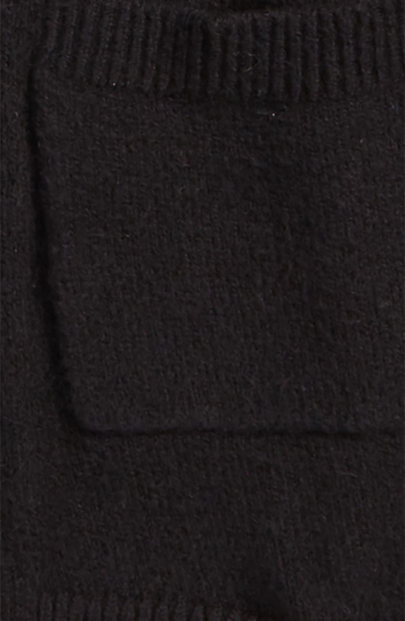 Balloon Sleeve Cardigan,                             Alternate thumbnail 2, color,                             BLACK