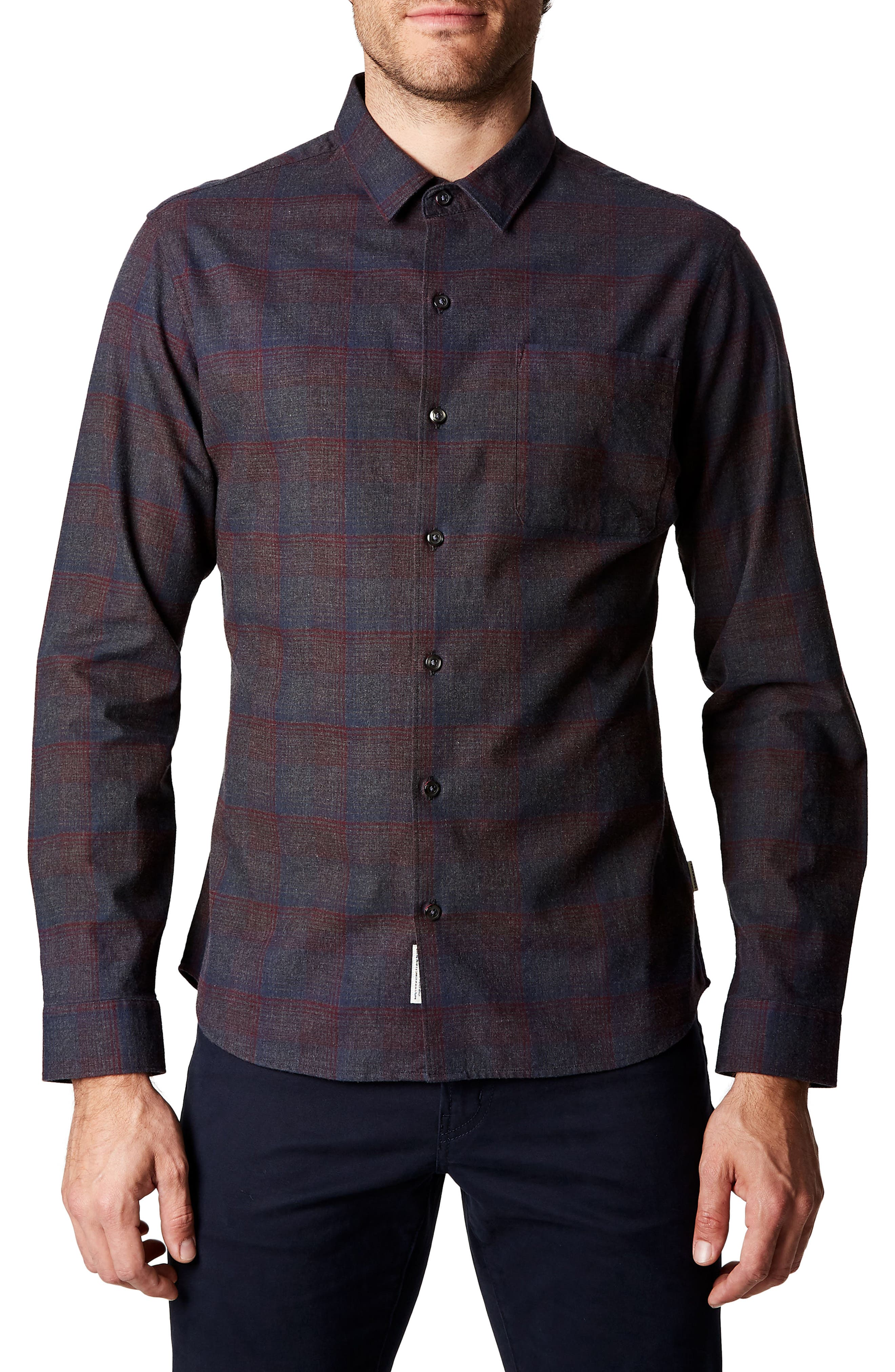 Feel So Good Plaid Shirt,                         Main,                         color, 020