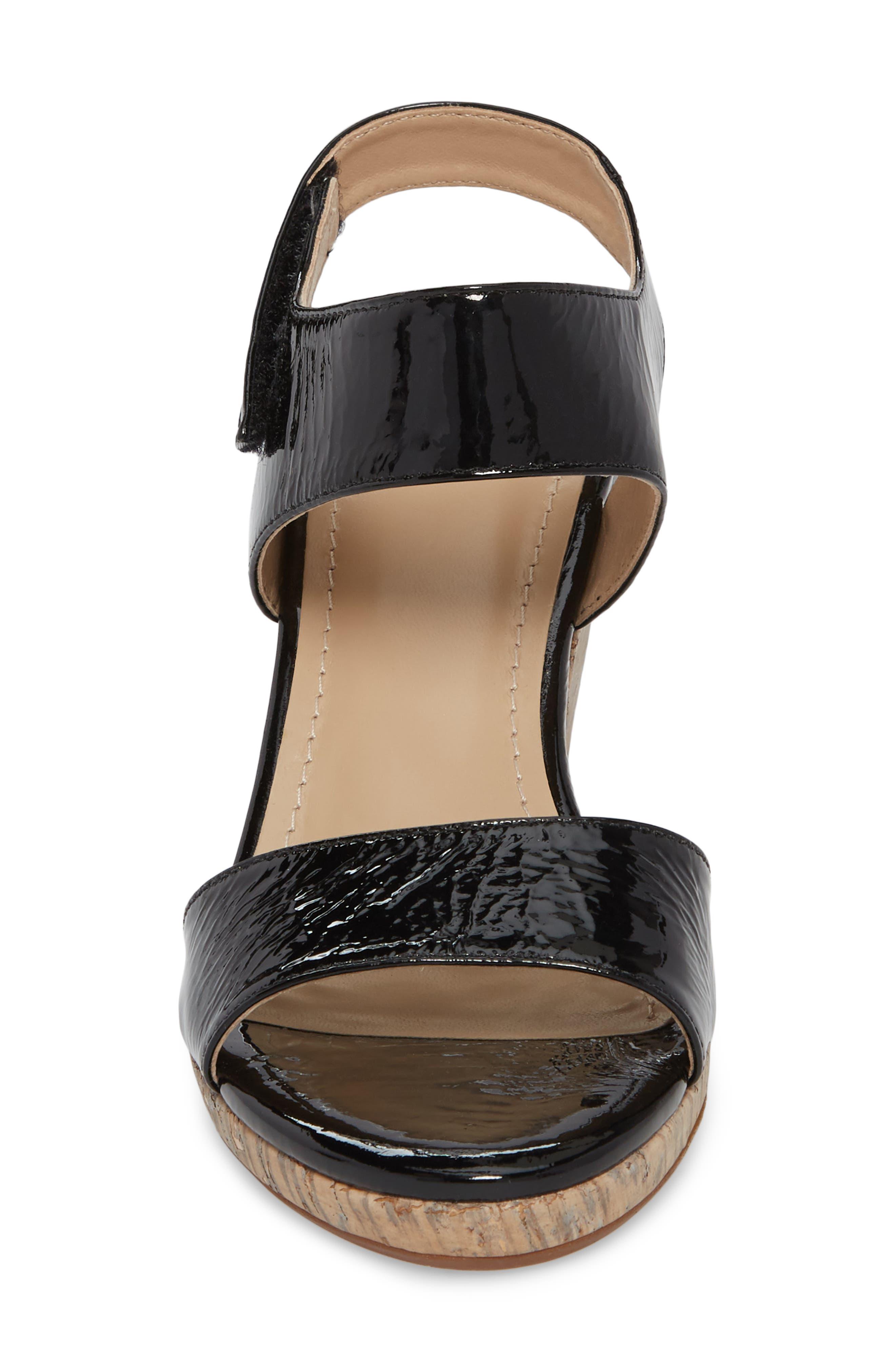 Glenna Wedge Sandal,                             Alternate thumbnail 7, color,