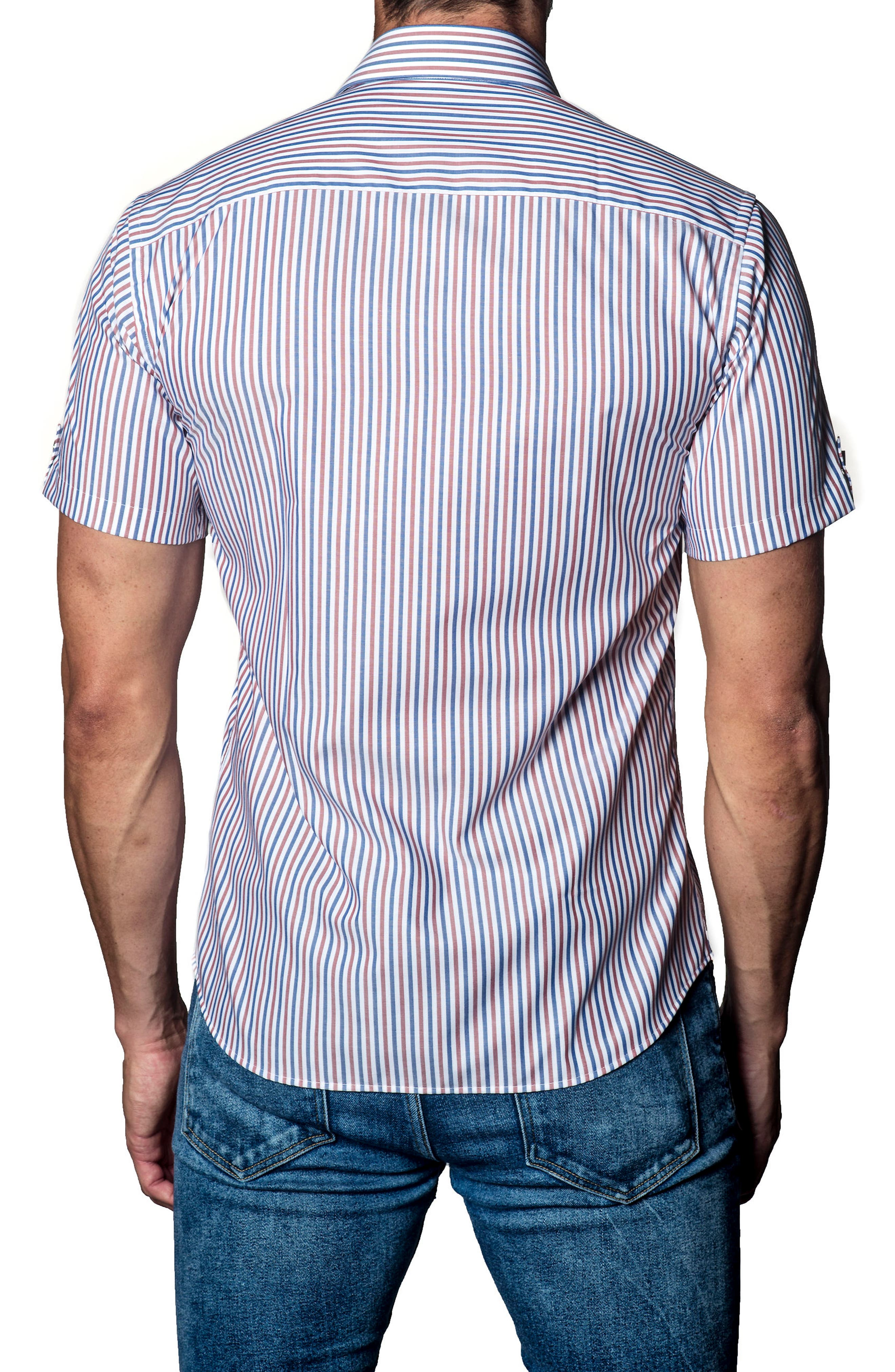 Stripe Sport Shirt,                             Alternate thumbnail 2, color,