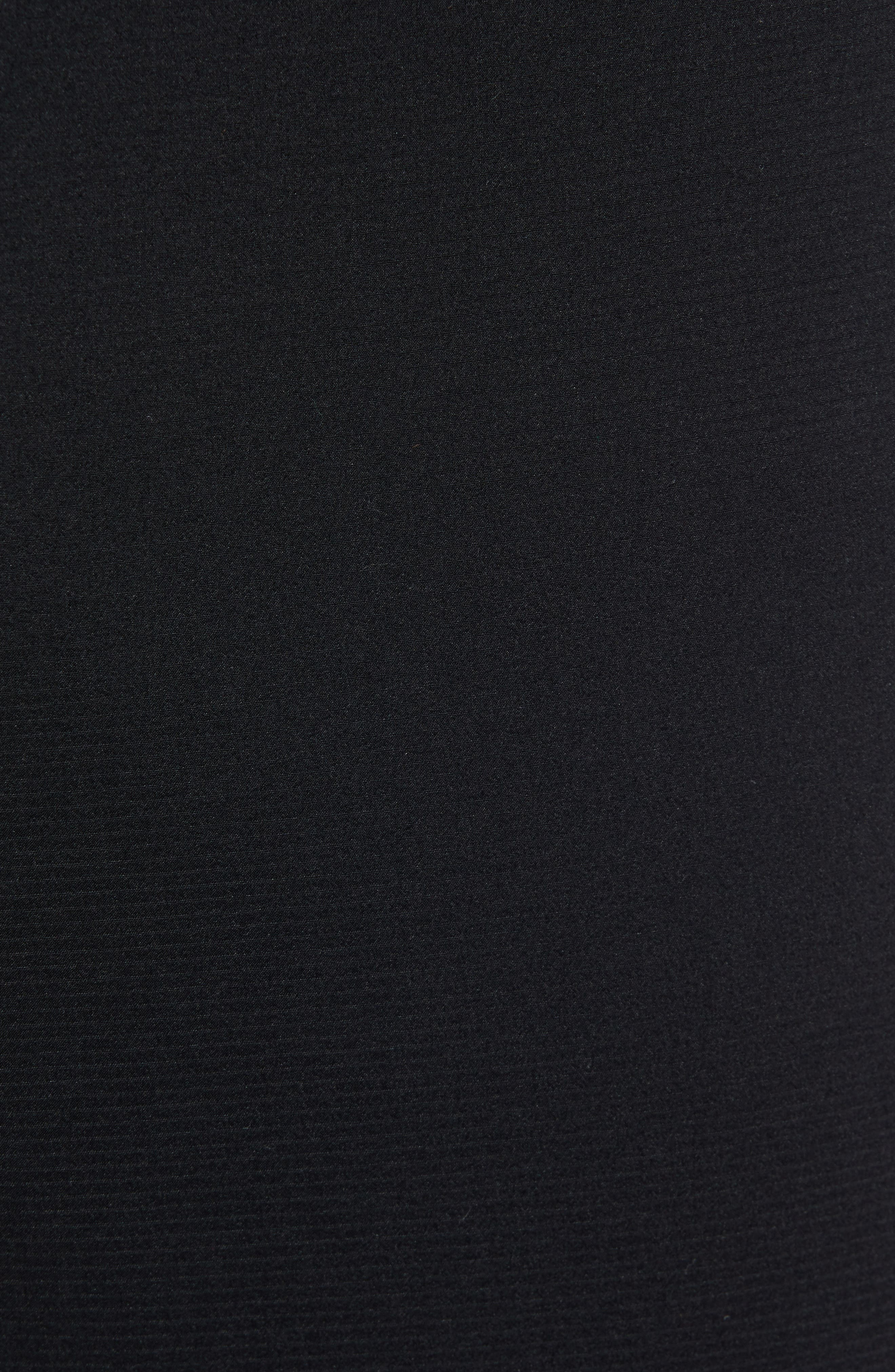 Tech Trainer Hybrid Sport Pants,                             Alternate thumbnail 5, color,                             BLACK