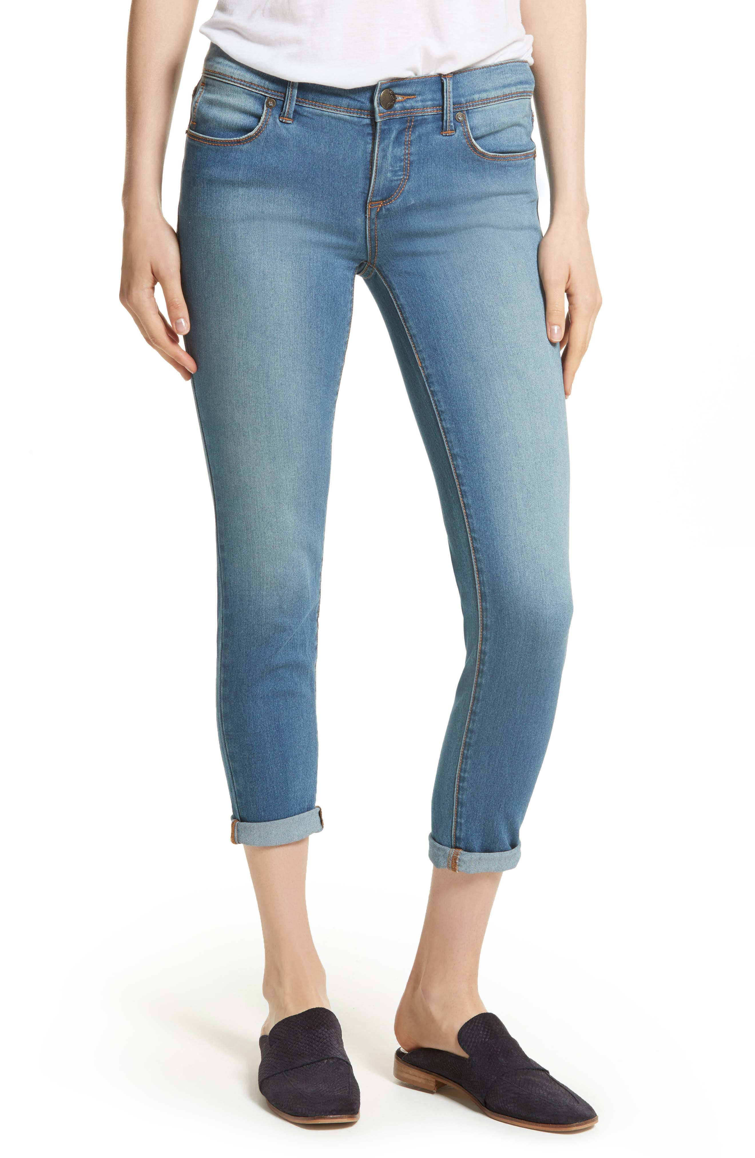 Gummy High Waist Jeans,                             Main thumbnail 2, color,