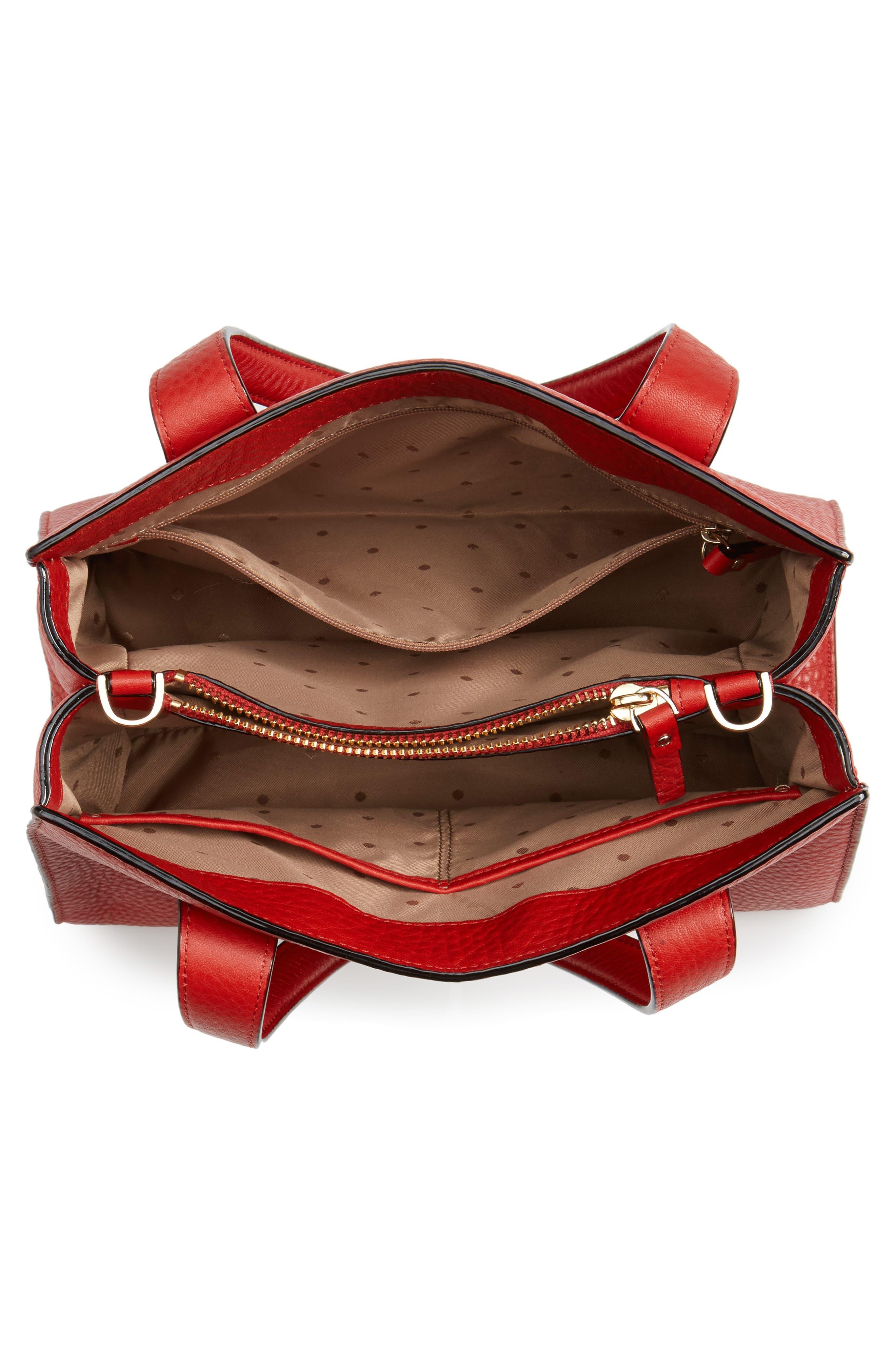 stewart street - little joy leather satchel,                             Alternate thumbnail 3, color,                             631