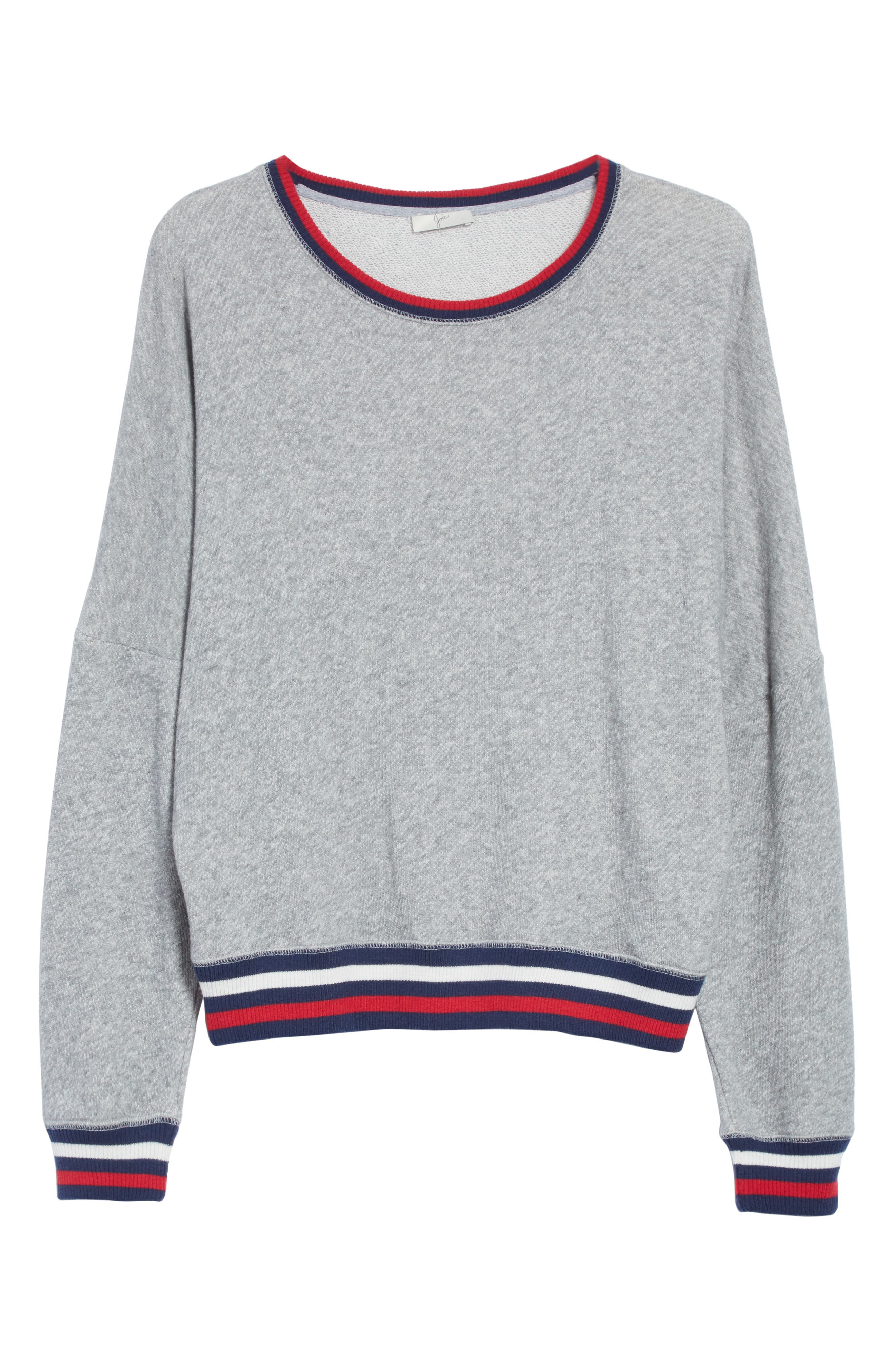 JOIE,                             Richardine B Sweatshirt,                             Alternate thumbnail 6, color,                             033