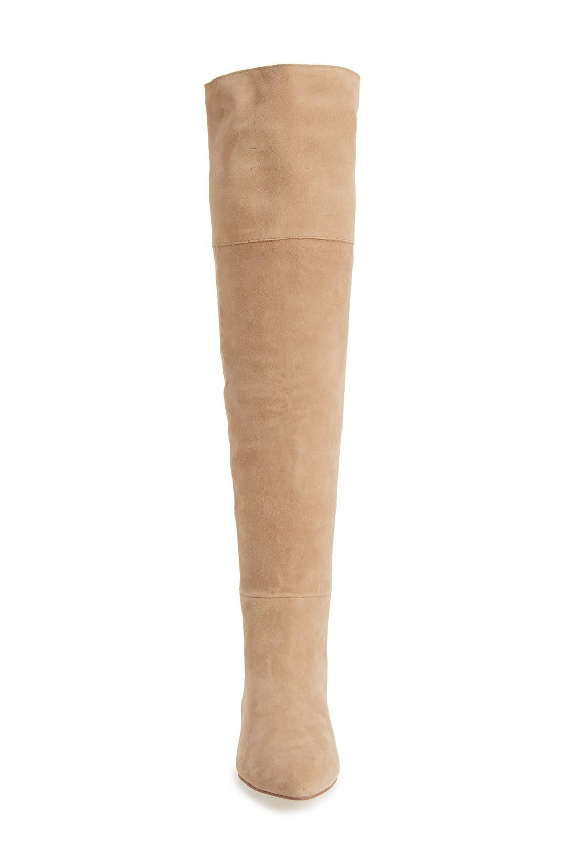'York' Over the Knee Boot,                             Alternate thumbnail 3, color,                             250