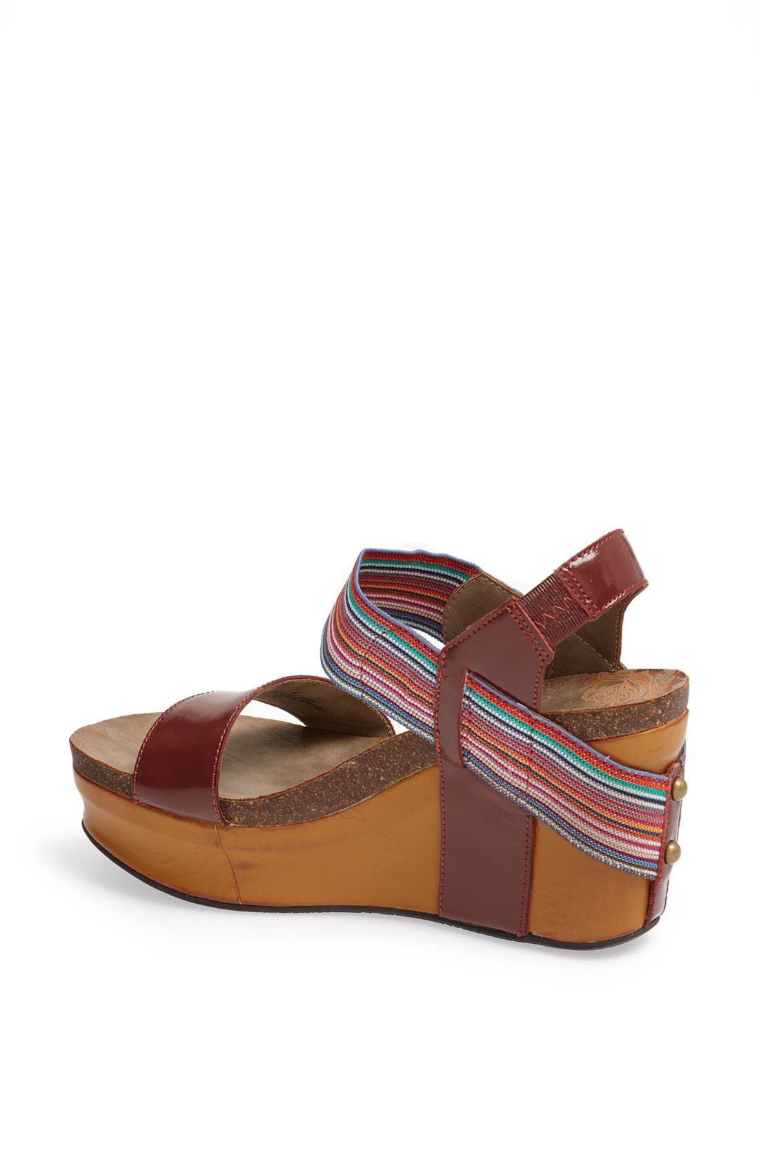 'Bushnell' Wedge Sandal,                             Alternate thumbnail 51, color,