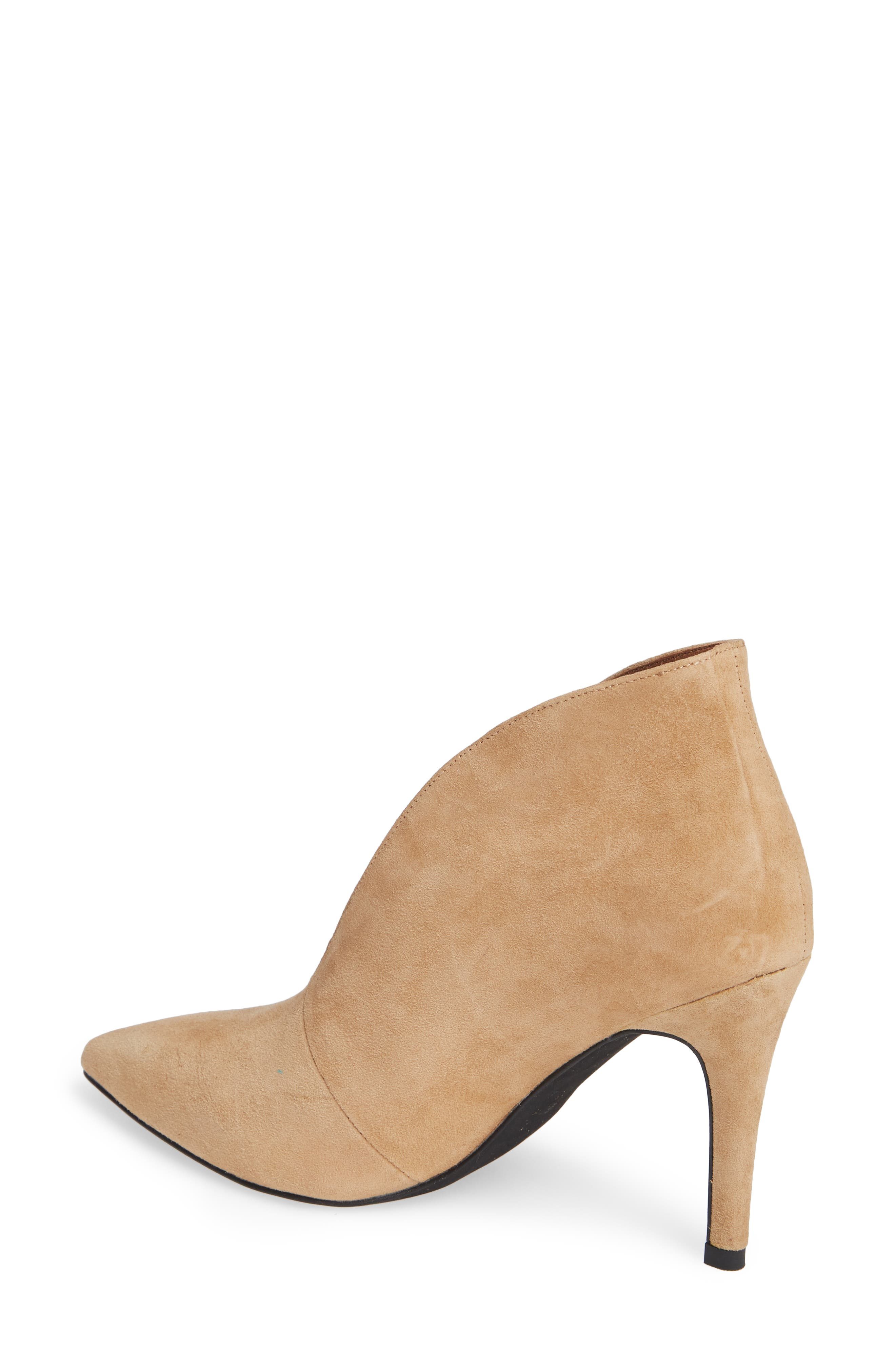 Electron Bootie,                             Alternate thumbnail 2, color,                             NUDE SUEDE