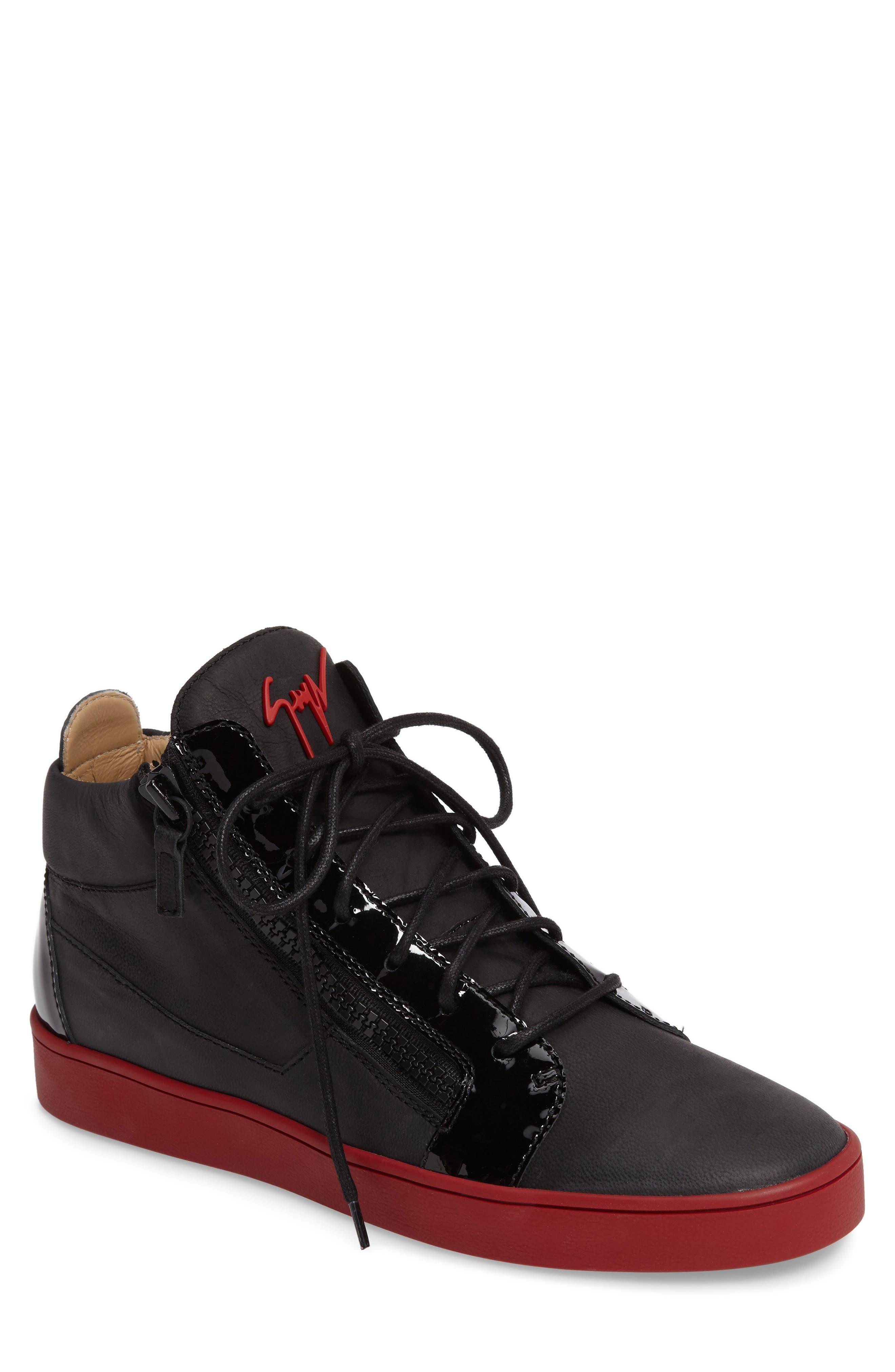 Mid Top Sneaker,                             Main thumbnail 1, color,                             001
