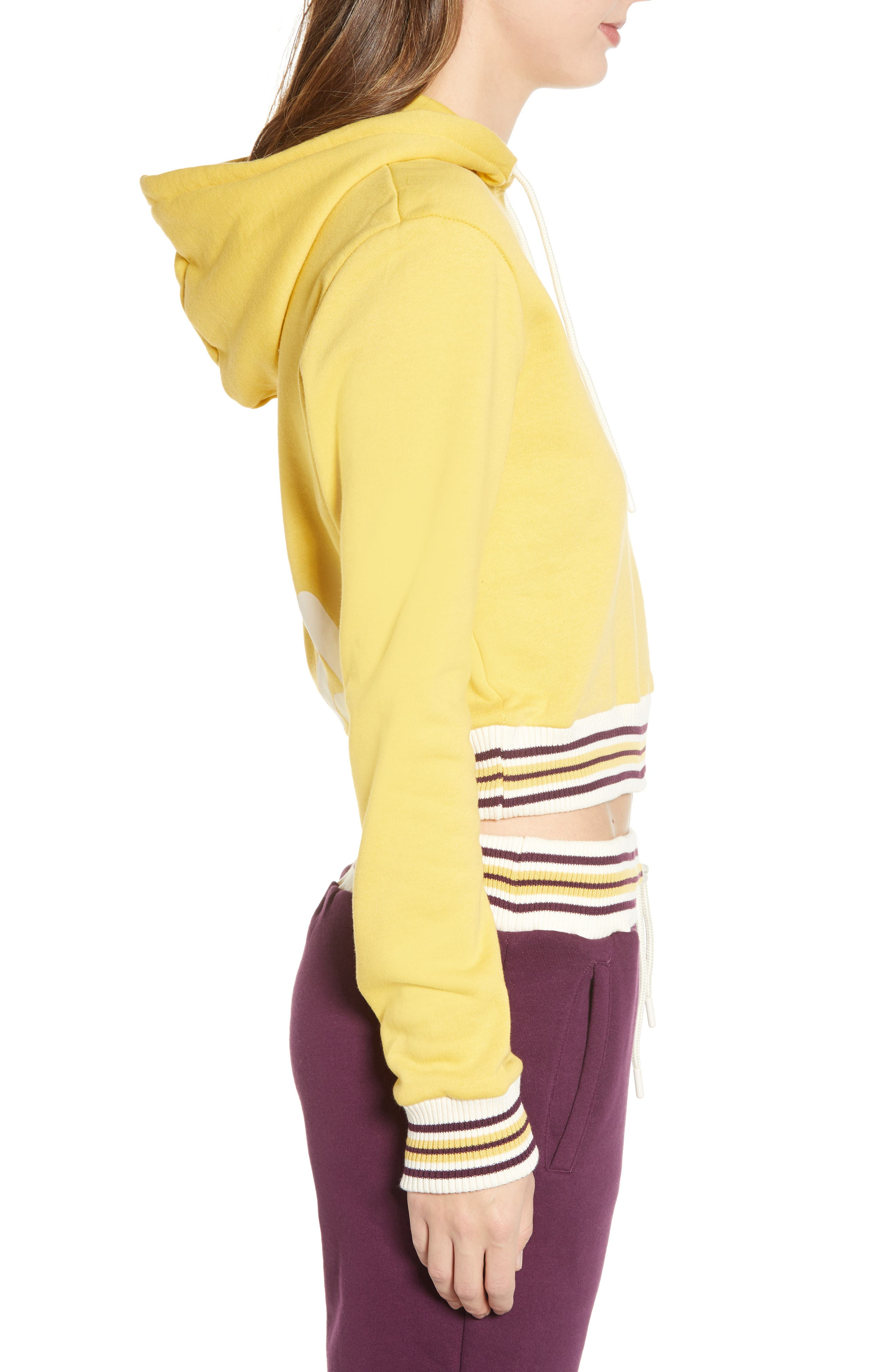 Bailey Hoodie,                             Alternate thumbnail 3, color,                             BAMBOO