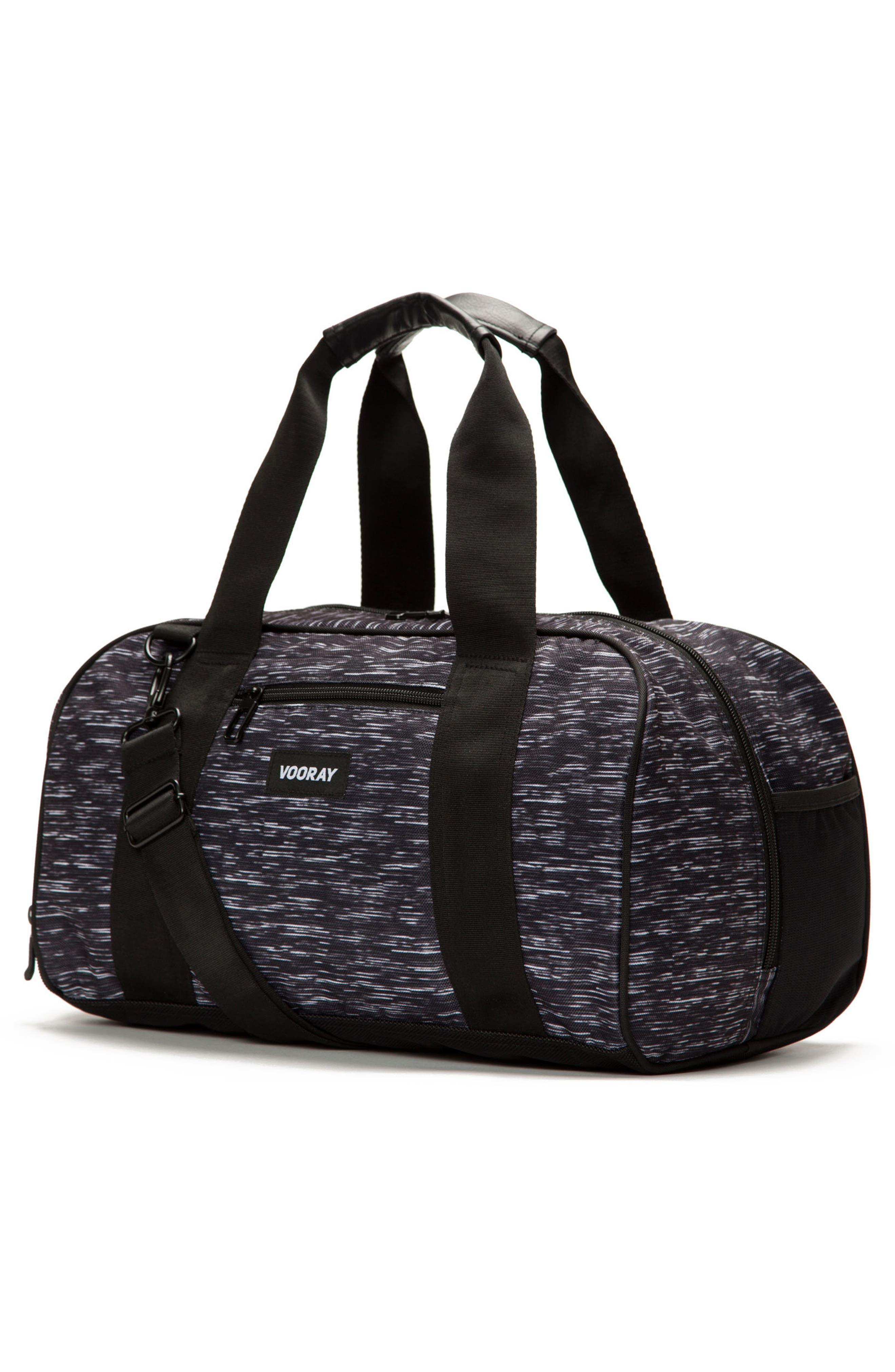 Burner Gym Bag,                             Alternate thumbnail 3, color,                             ATHLETIC BLACK