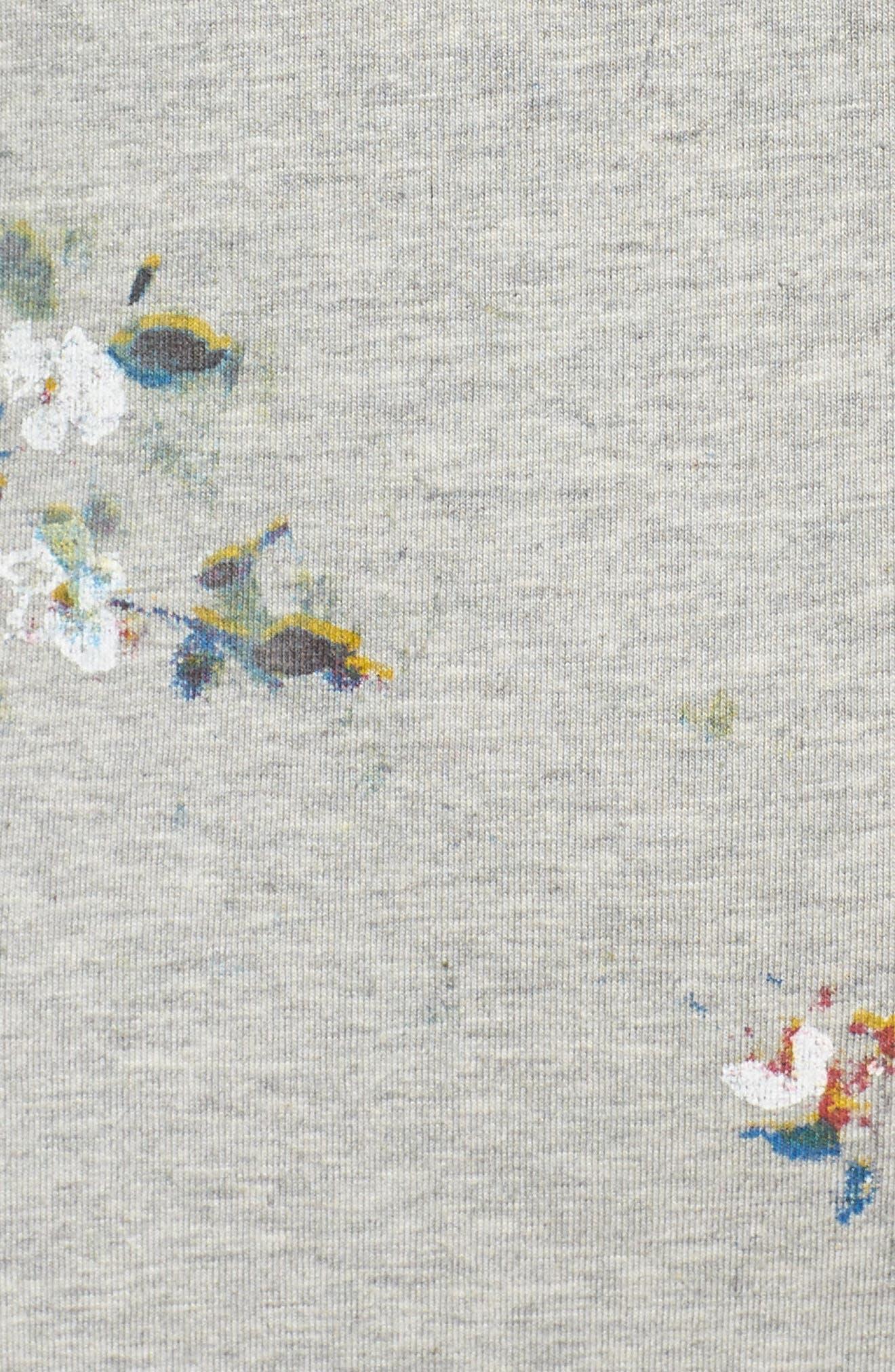 Blossom T-Shirt Dress,                             Alternate thumbnail 6, color,                             031