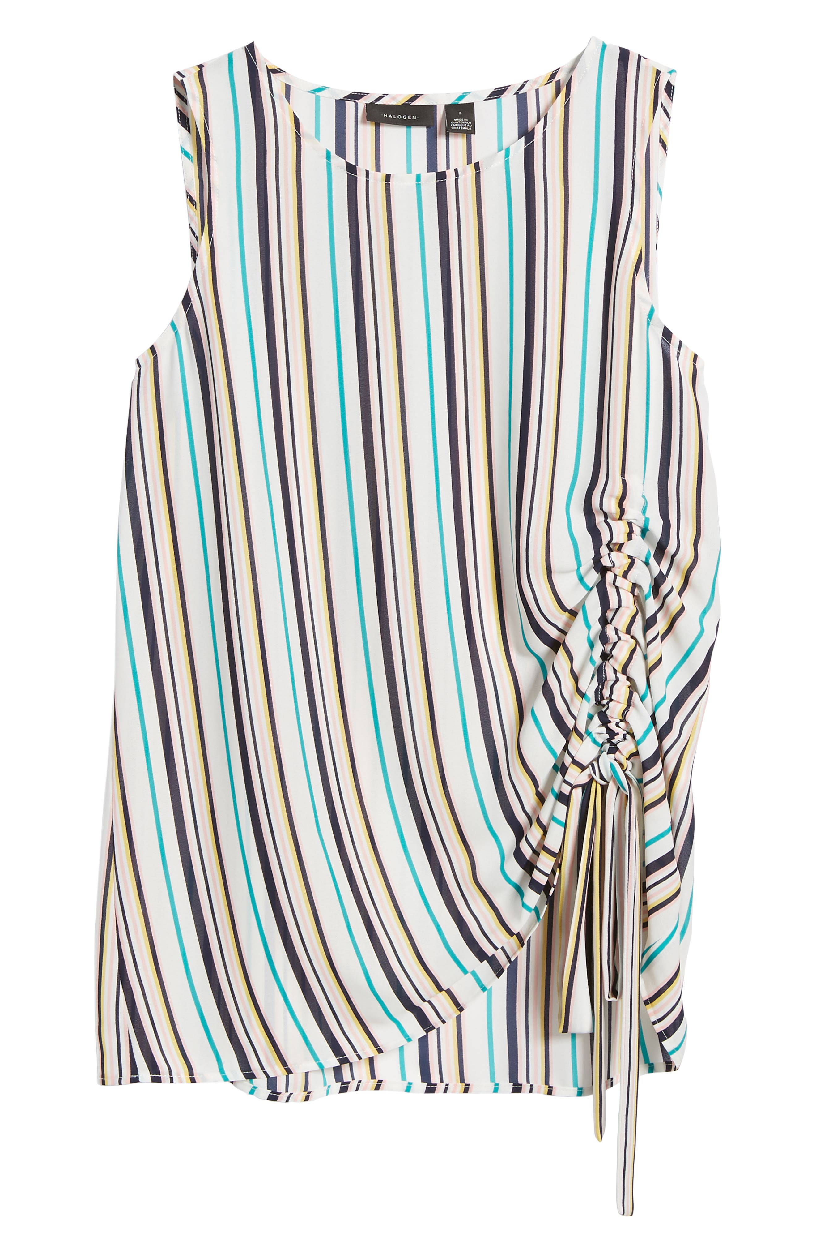 Side Ruched Top,                             Alternate thumbnail 23, color,
