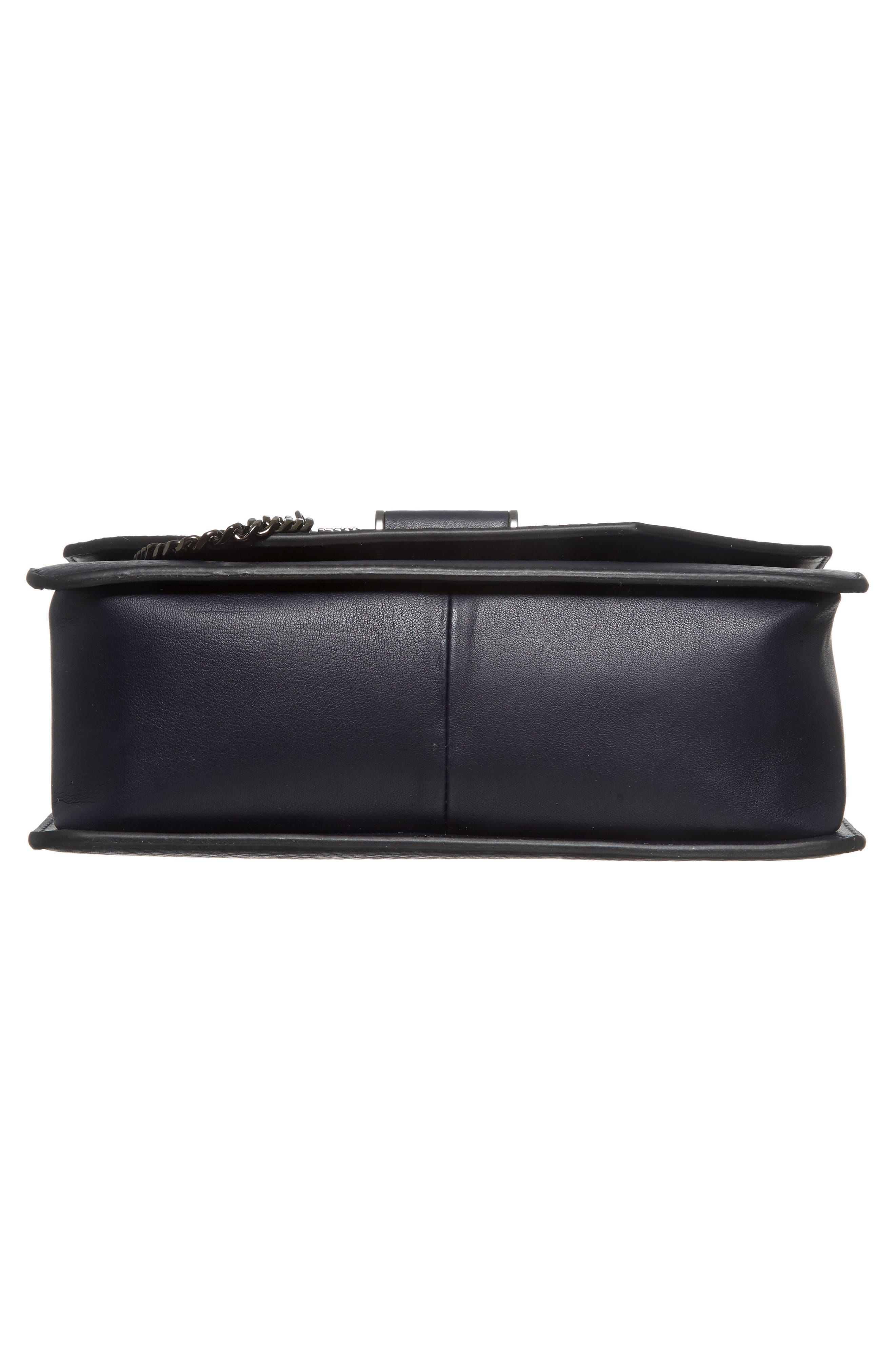 Cortney Nappa Leather Shoulder/Crossbody Bag,                             Alternate thumbnail 24, color,