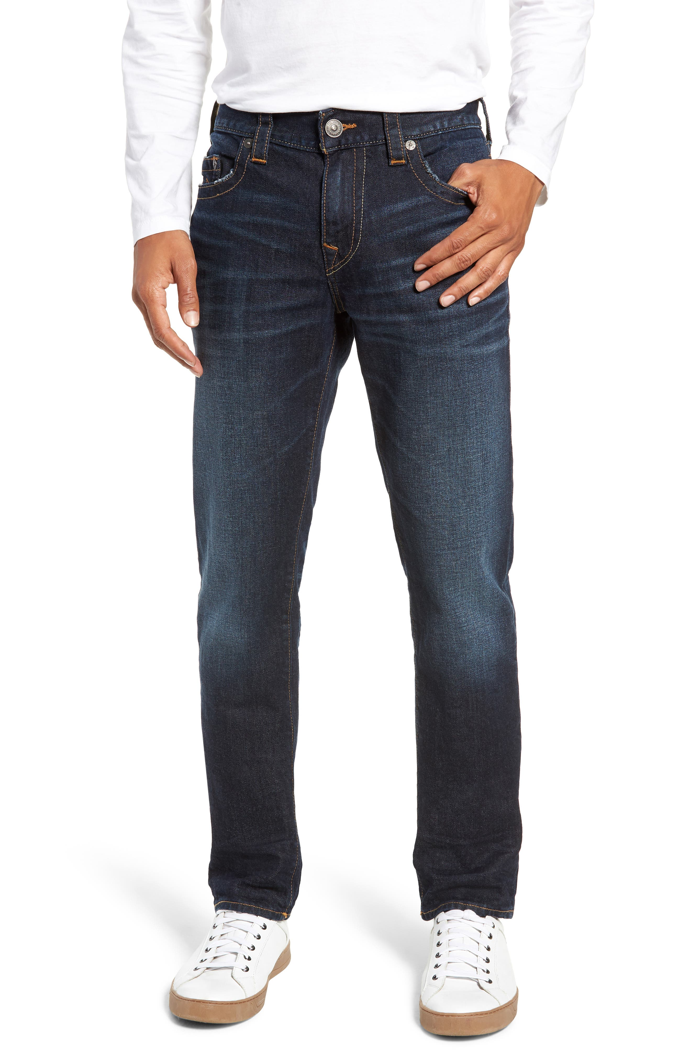 Rocco Skinny Fit Jeans,                             Main thumbnail 1, color,                             DARK TUNNEL