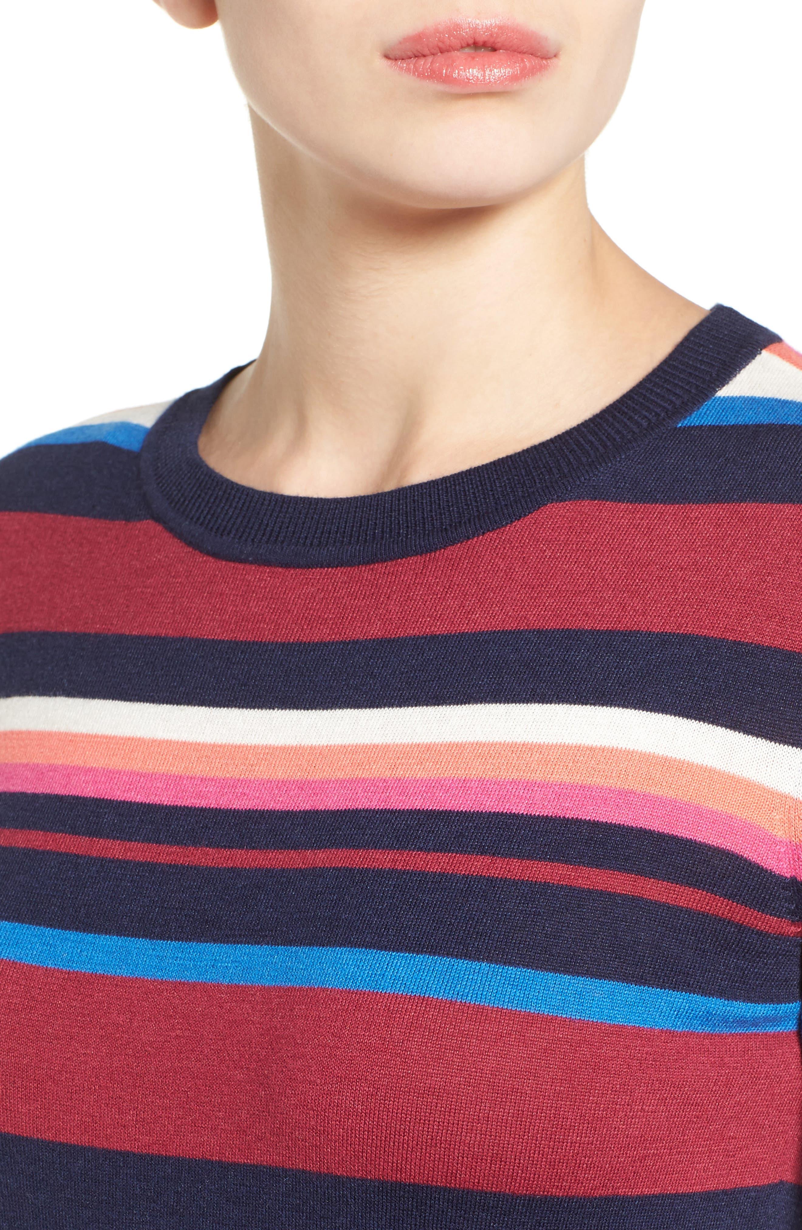 Cotton Blend Pullover,                             Alternate thumbnail 120, color,