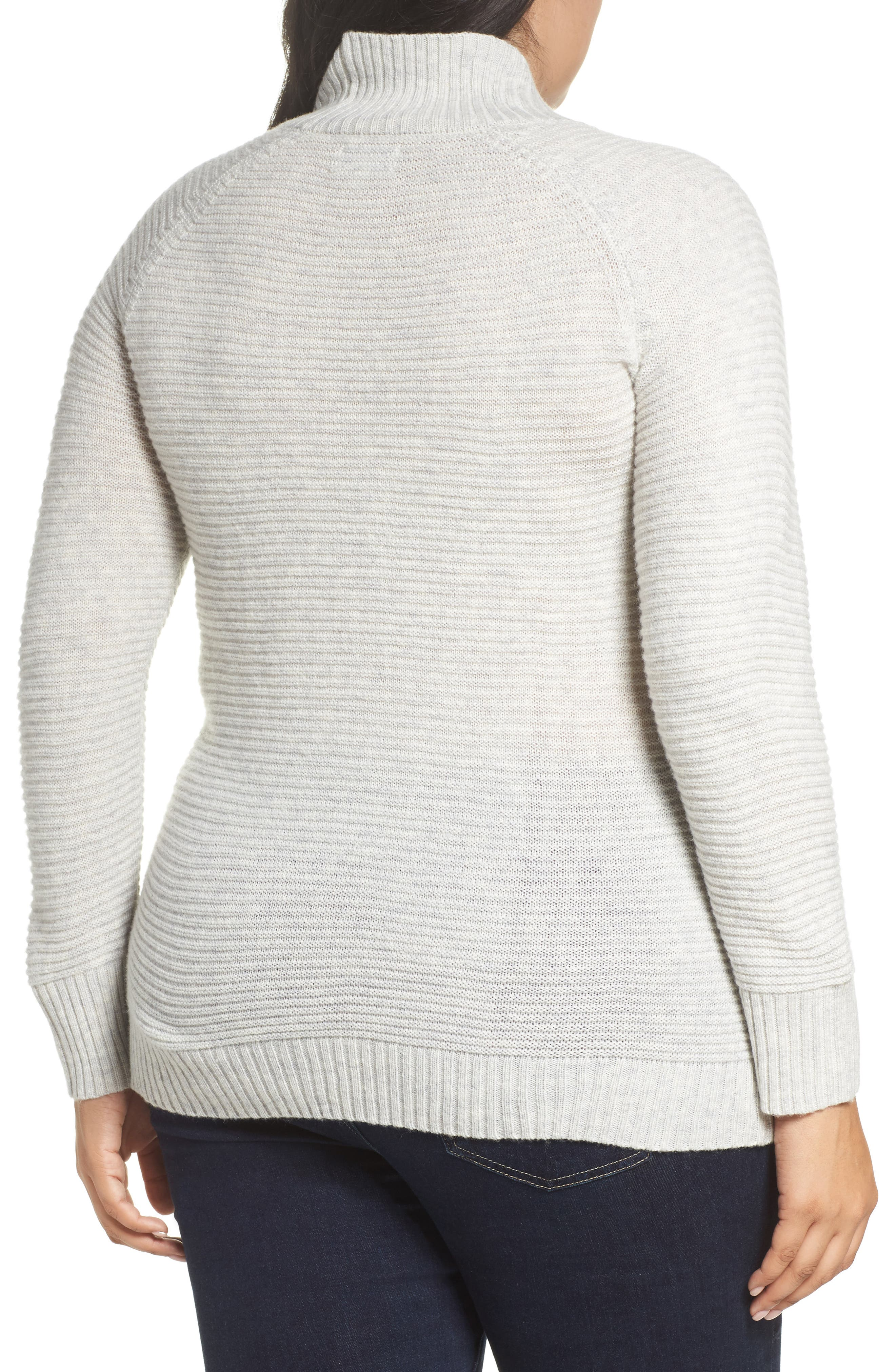 Lace-Up Sweater,                             Alternate thumbnail 2, color,                             030