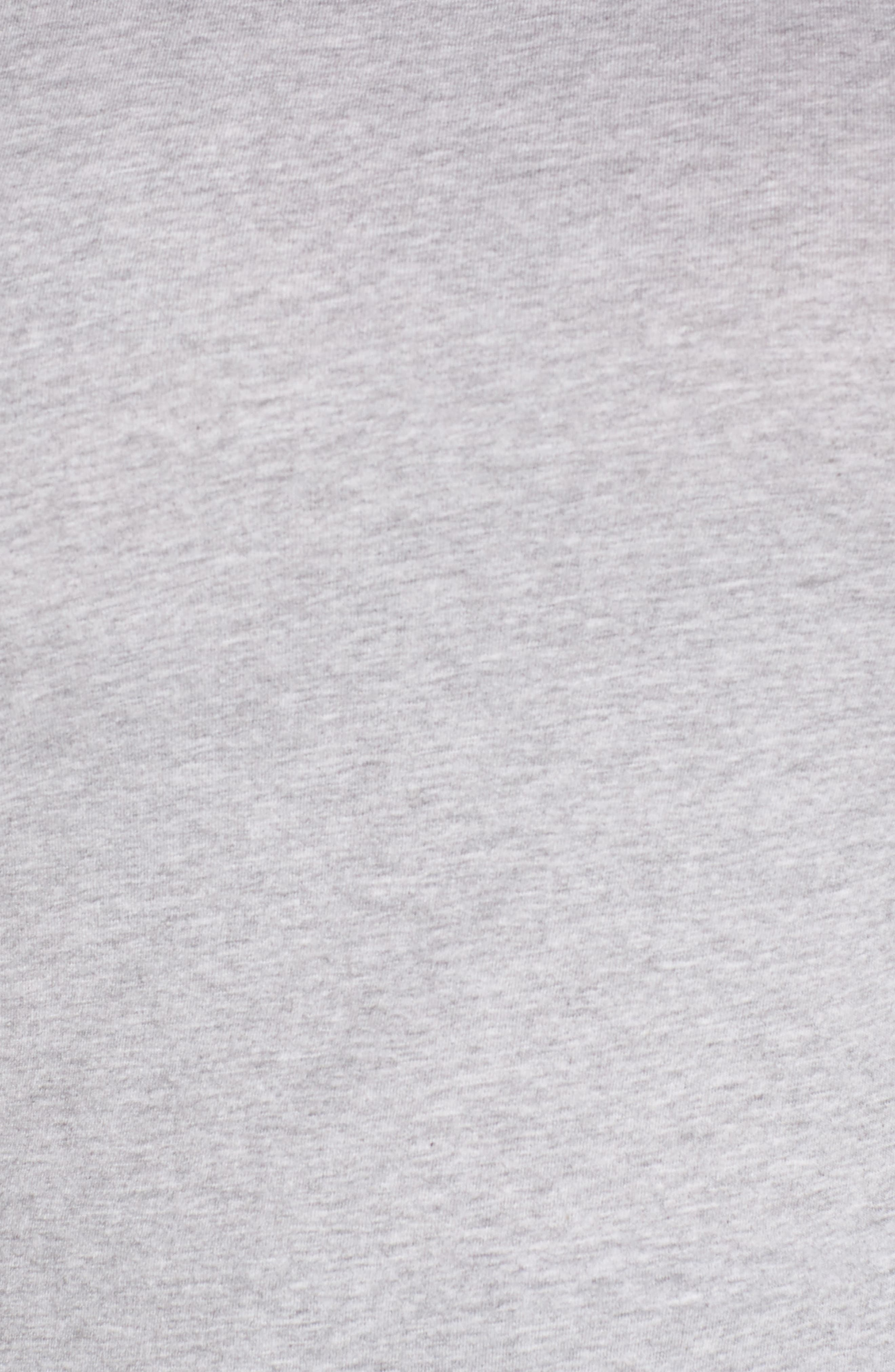 Pocket Crewneck Tee,                             Alternate thumbnail 5, color,                             GREY PEARL HEATHER