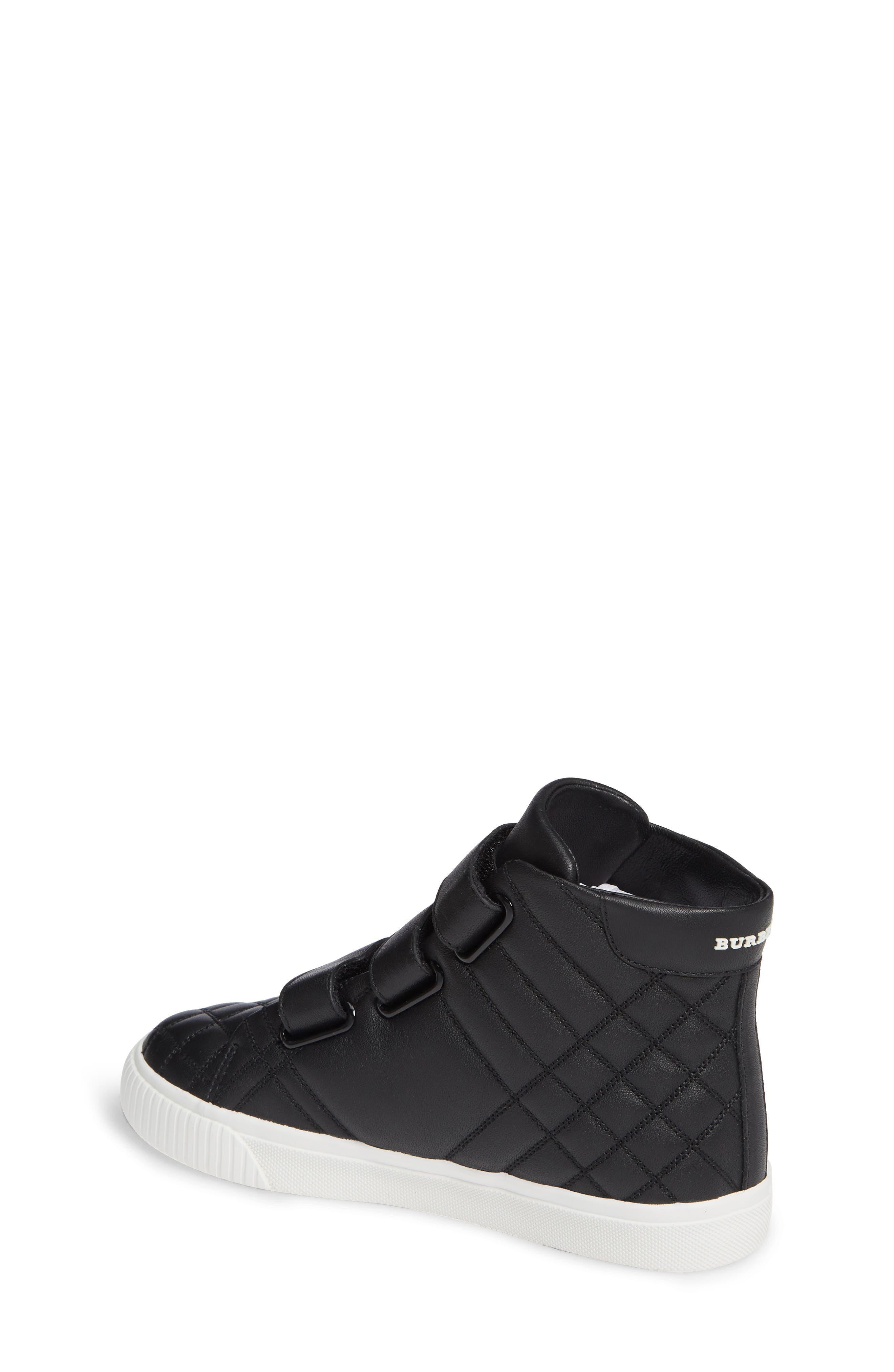 Sturrock Hi Top Sneaker,                             Alternate thumbnail 2, color,                             BLACK