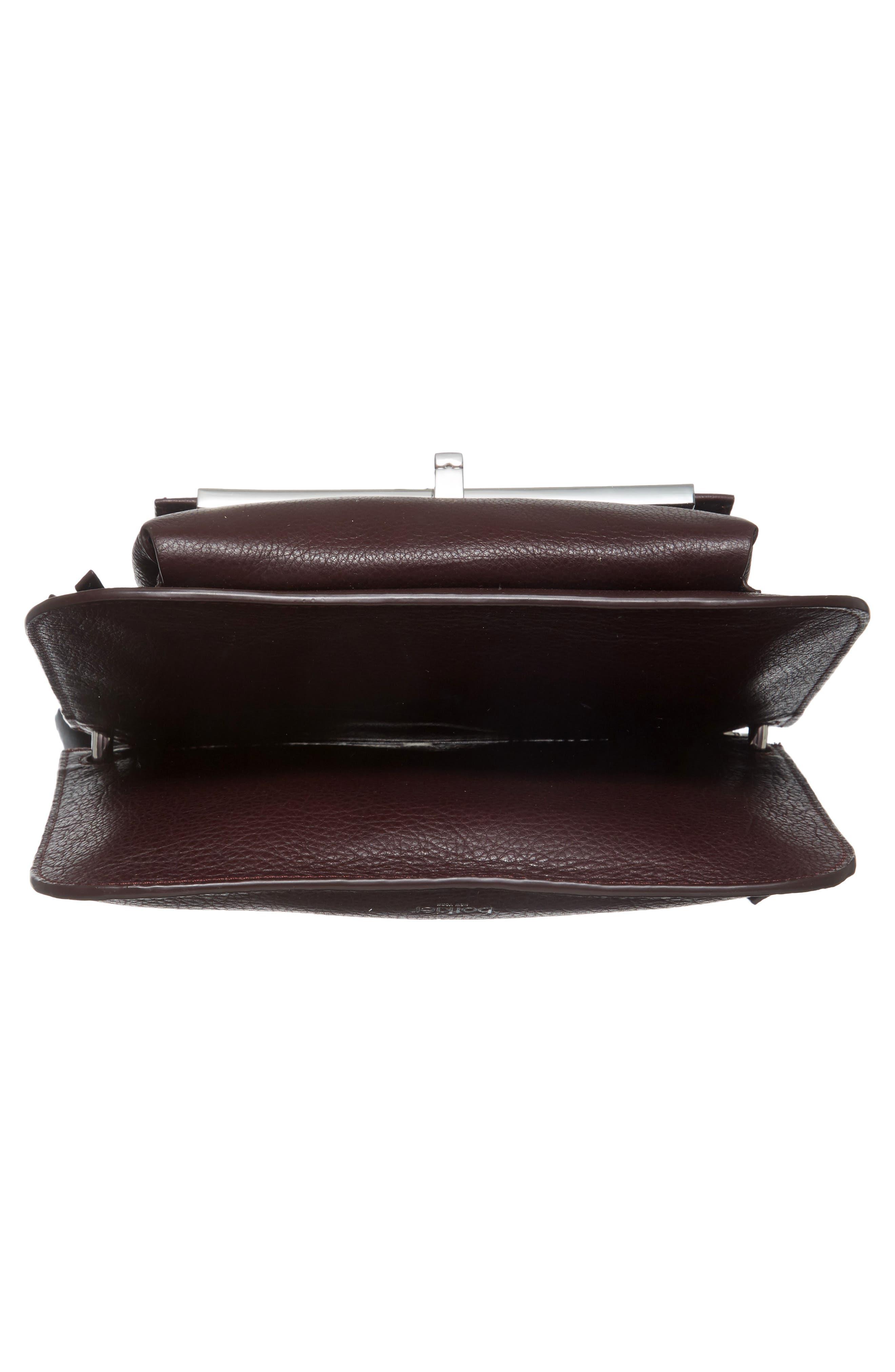 Bleeker Leather Double Shoulder Bag,                             Alternate thumbnail 35, color,