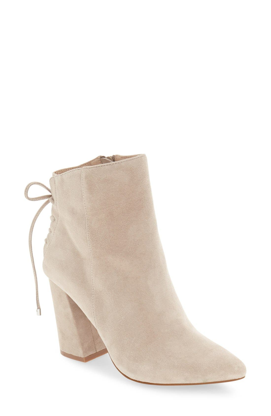 'Siren' Pointy Toe Bootie,                             Main thumbnail 2, color,